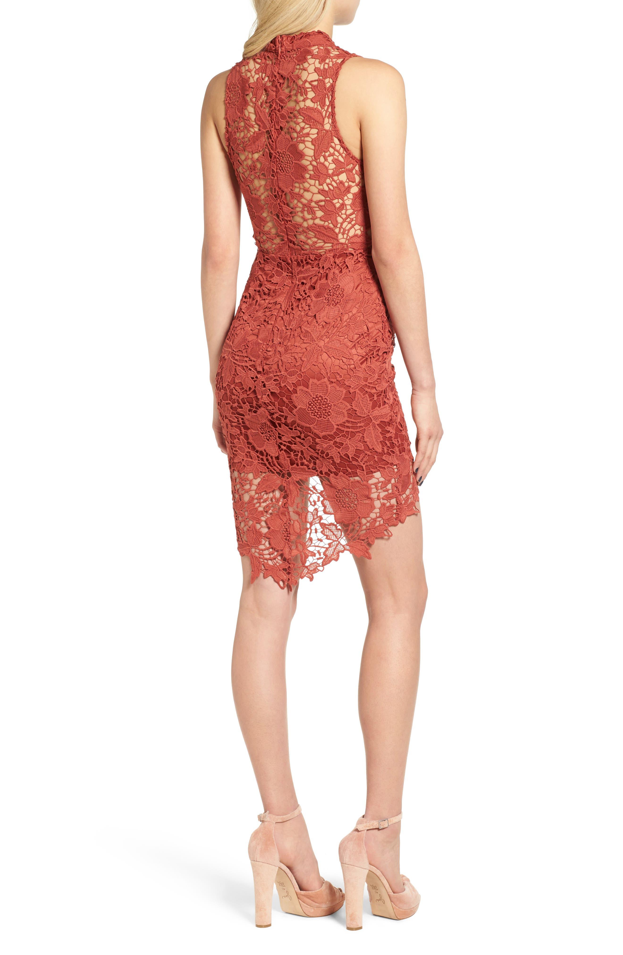 'Samantha' Lace Dress,                             Alternate thumbnail 13, color,