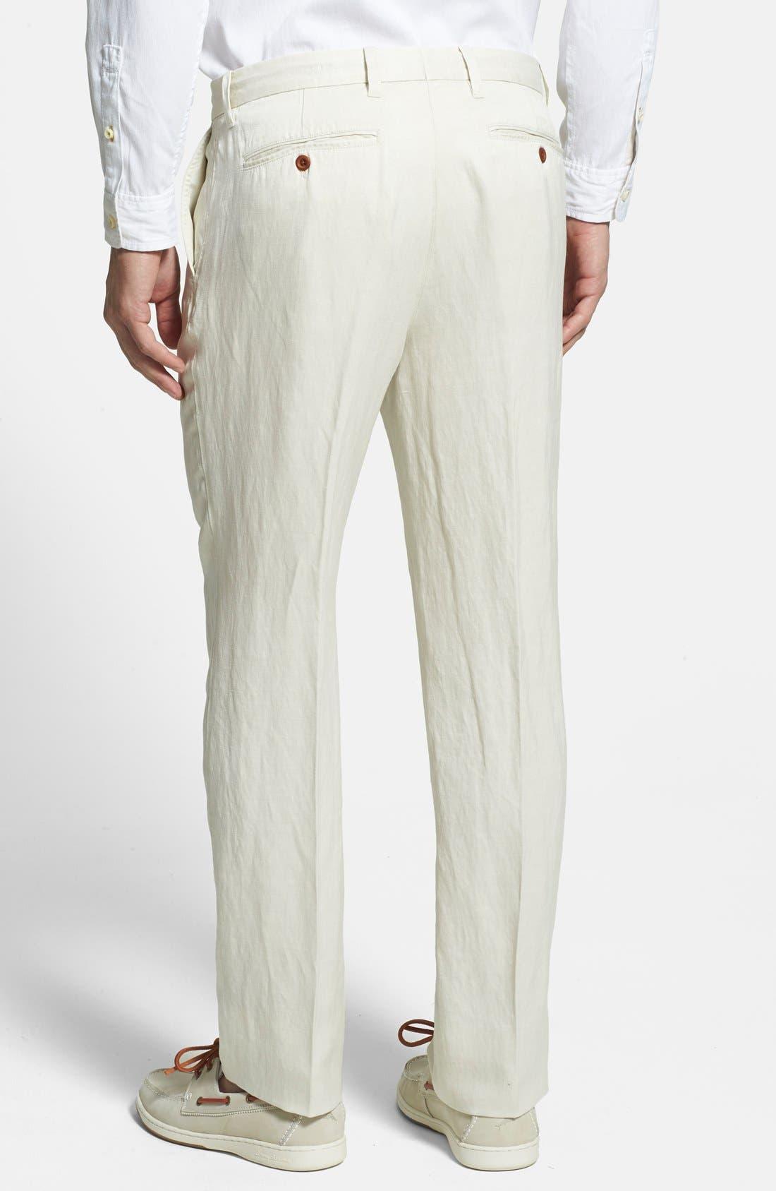 'La Jolla' Flat Front Pants,                             Alternate thumbnail 7, color,                             250
