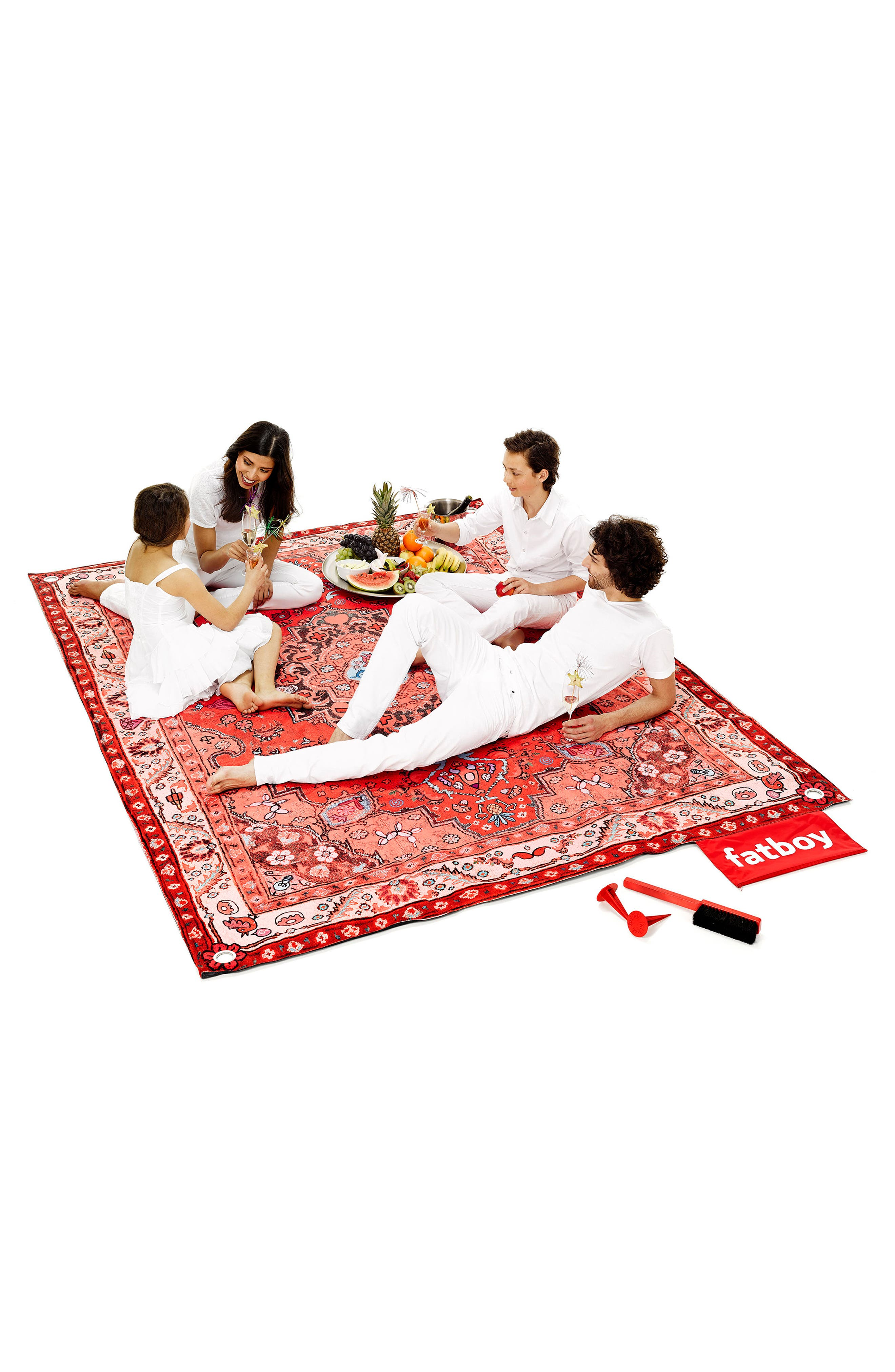 Picnic Lounge Outdoor Blanket,                             Alternate thumbnail 2, color,                             652
