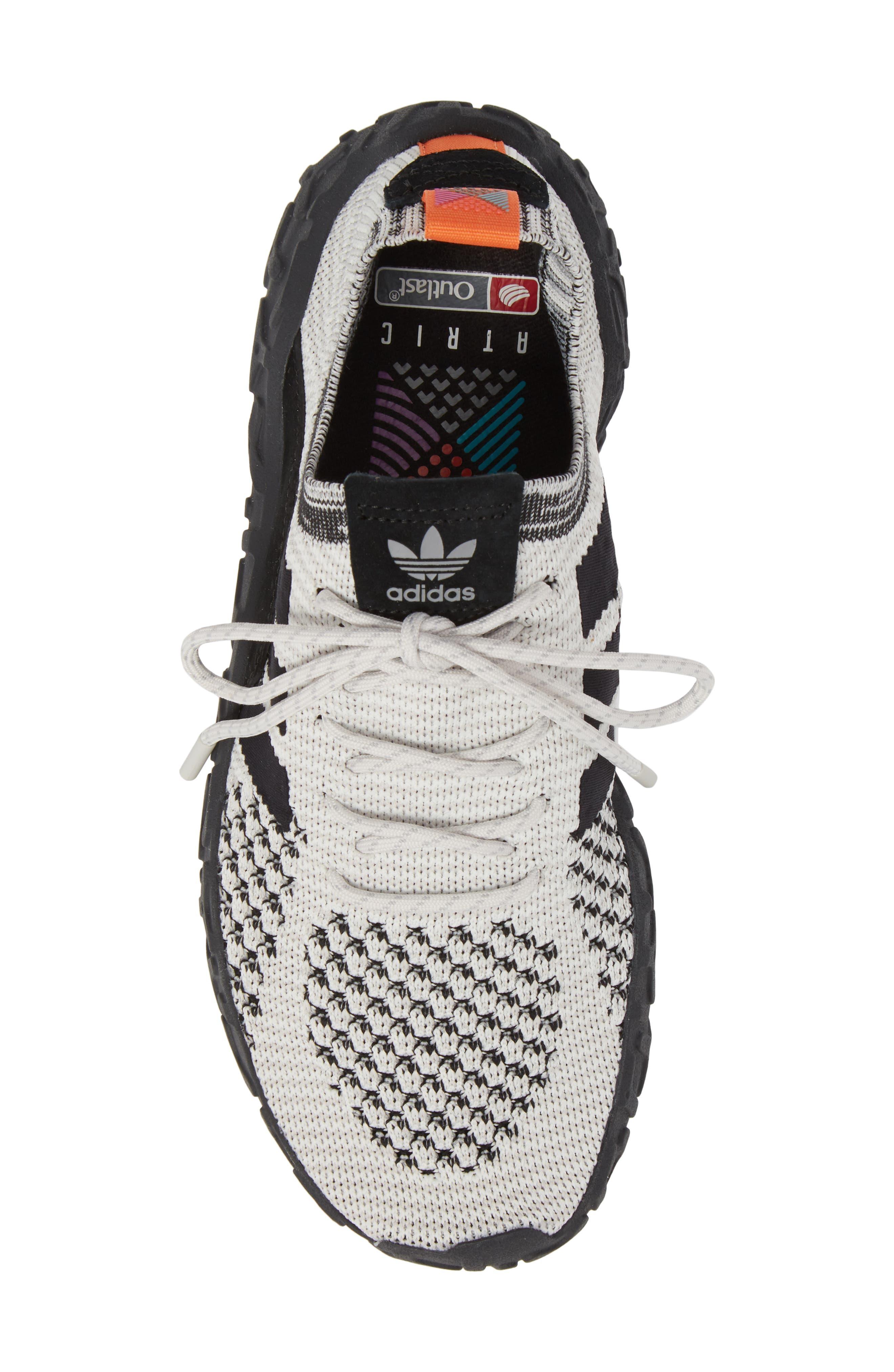 ADIDAS,                             F22 Primeknit Sneaker,                             Alternate thumbnail 5, color,                             005