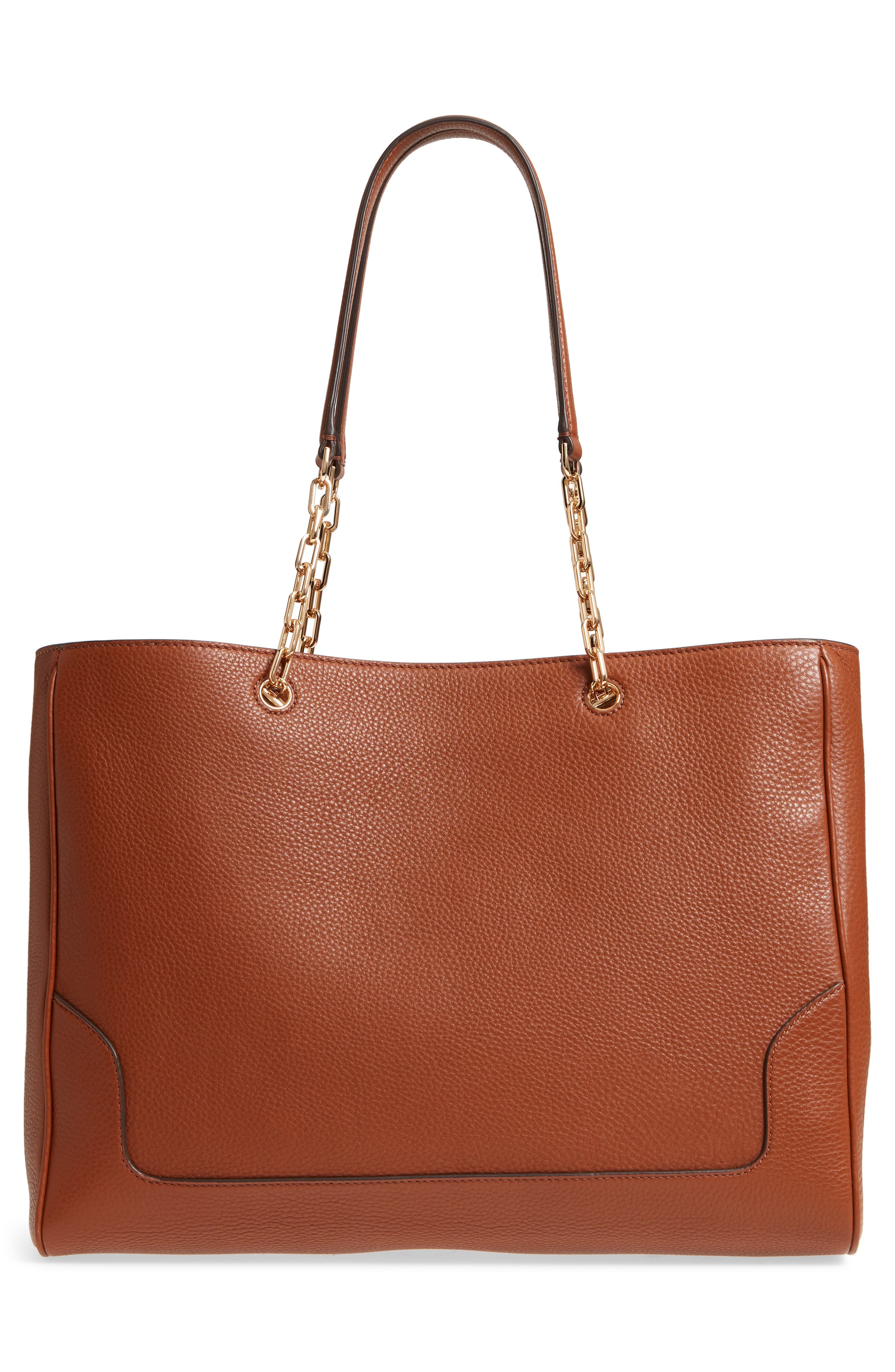 Marsden Pebbled Leather Tote,                             Alternate thumbnail 8, color,