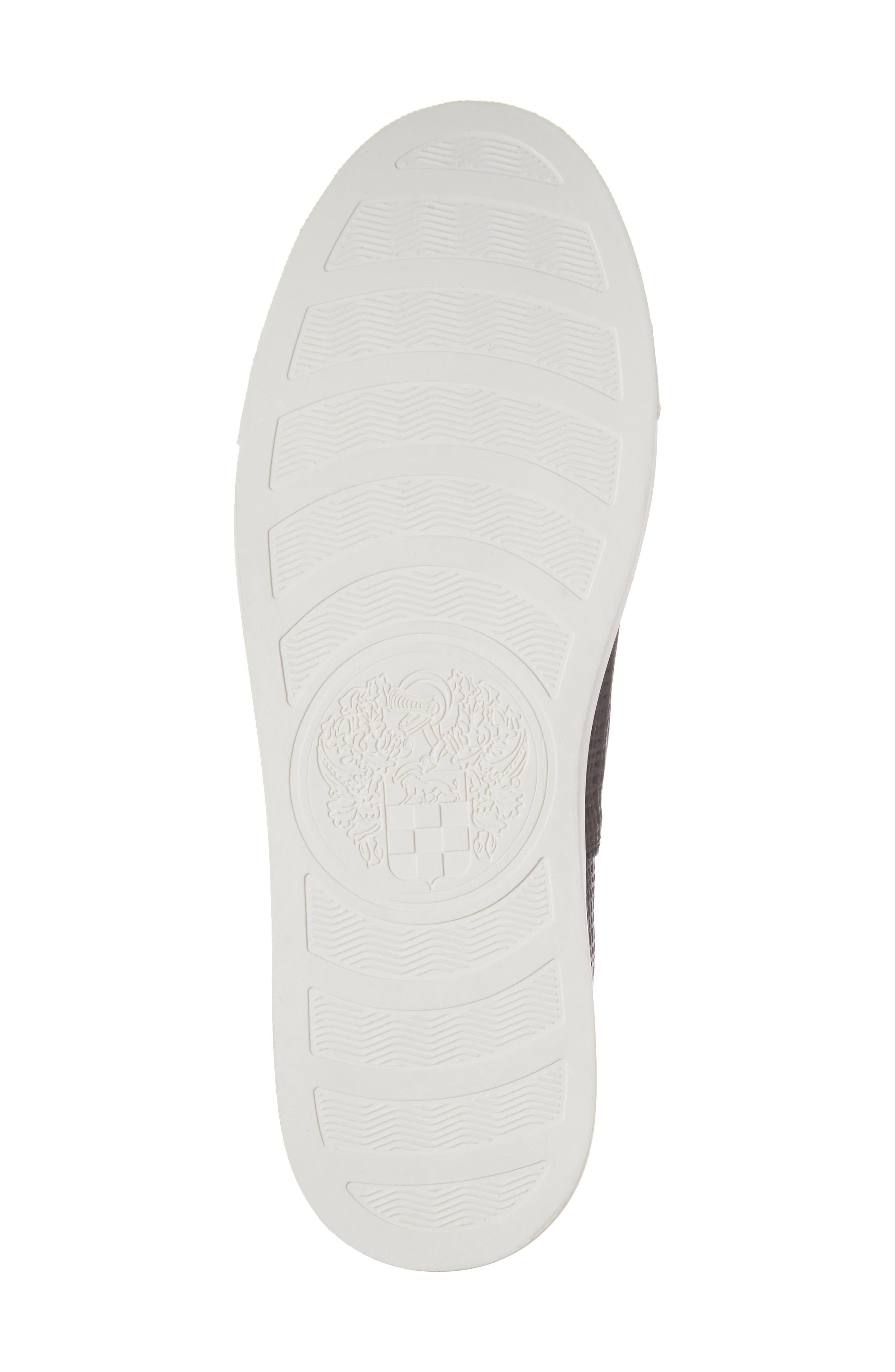 Becker Perforated Slip-On Sneaker,                             Alternate thumbnail 6, color,                             001