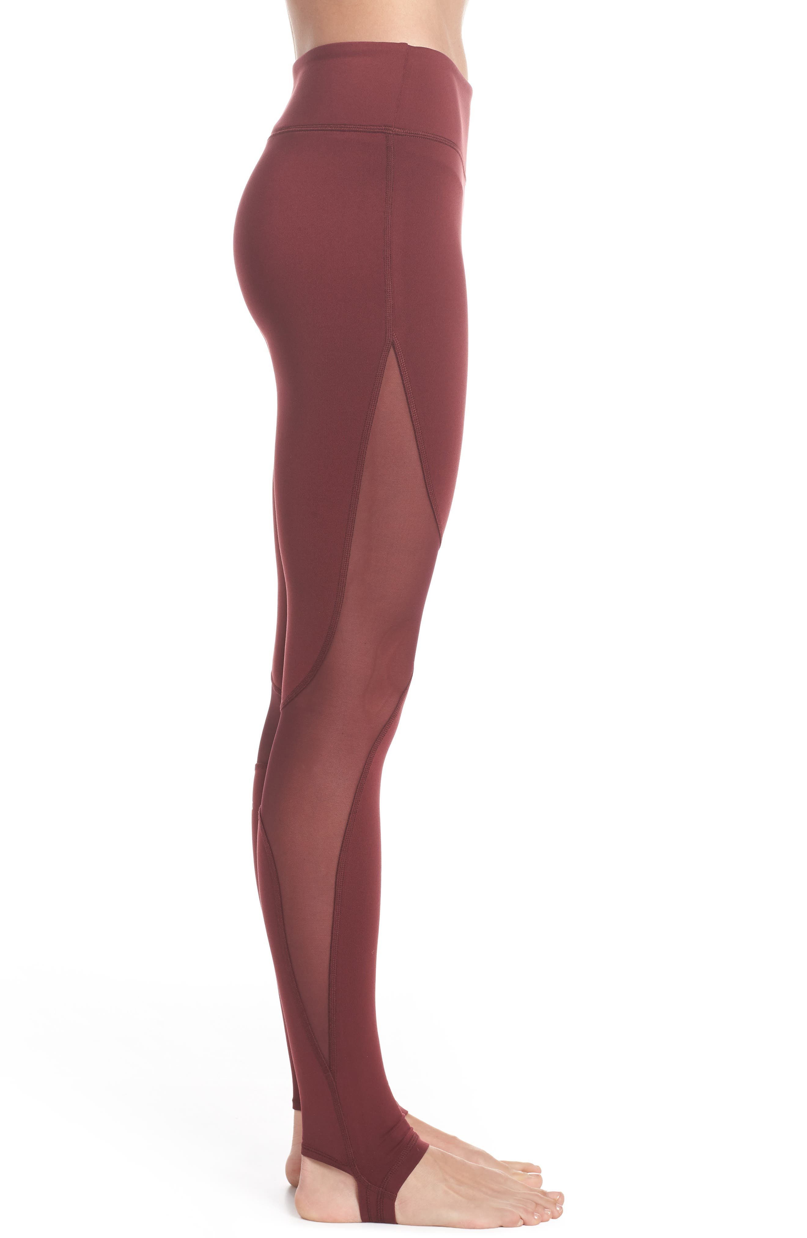 Coast High Waist Stirrup Leggings,                             Alternate thumbnail 3, color,                             936