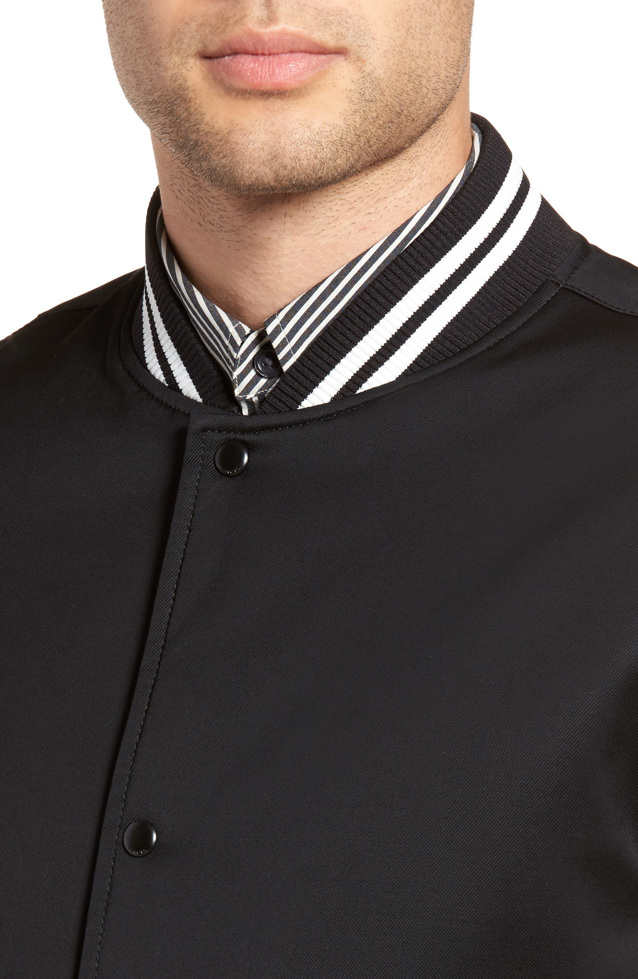 Varsity Jacket,                             Alternate thumbnail 4, color,                             001