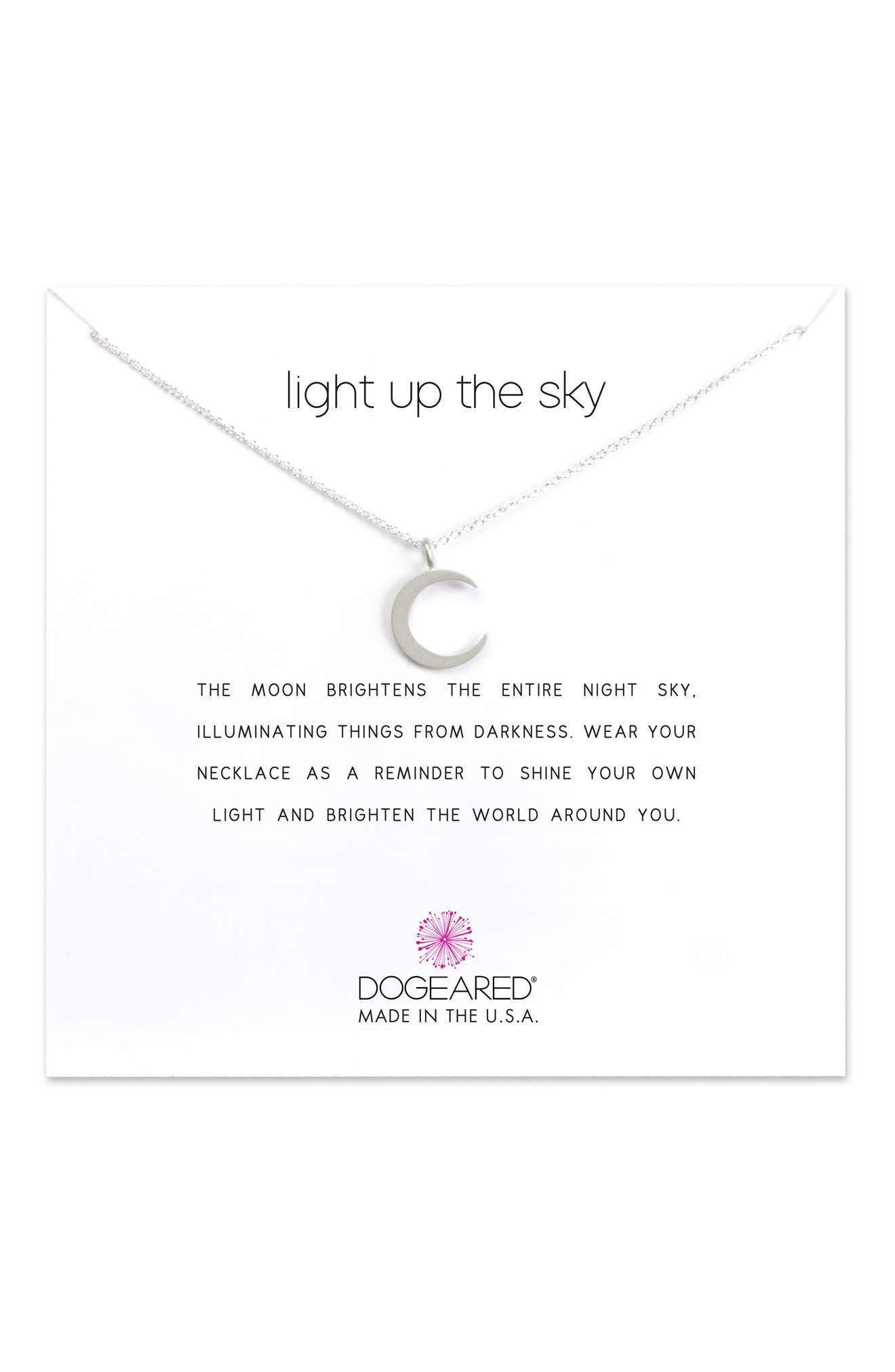 Light Up the Sky Pendant Necklace,                             Alternate thumbnail 3, color,                             040