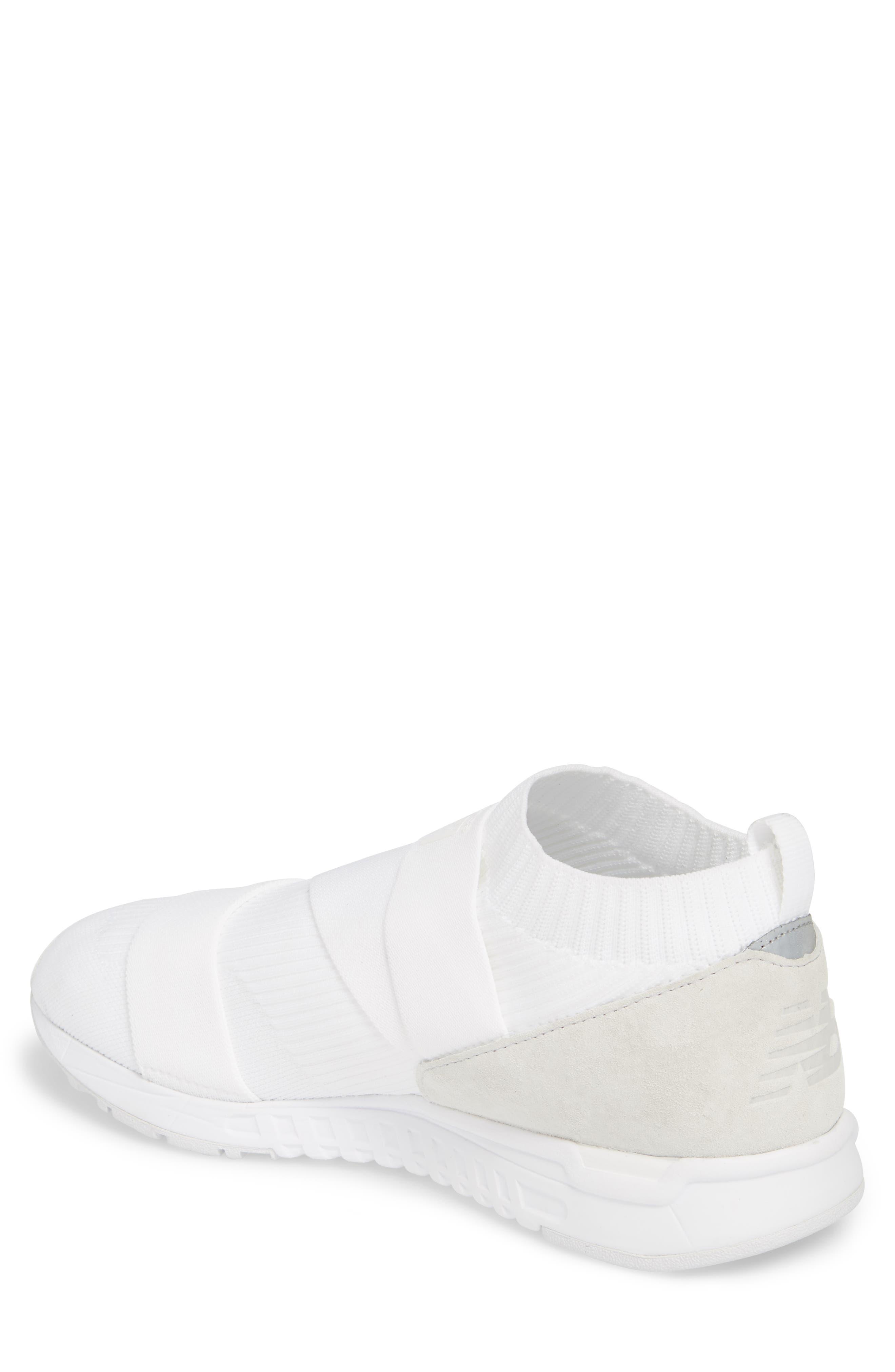 247 Knit Sneaker,                             Alternate thumbnail 2, color,                             WHITE