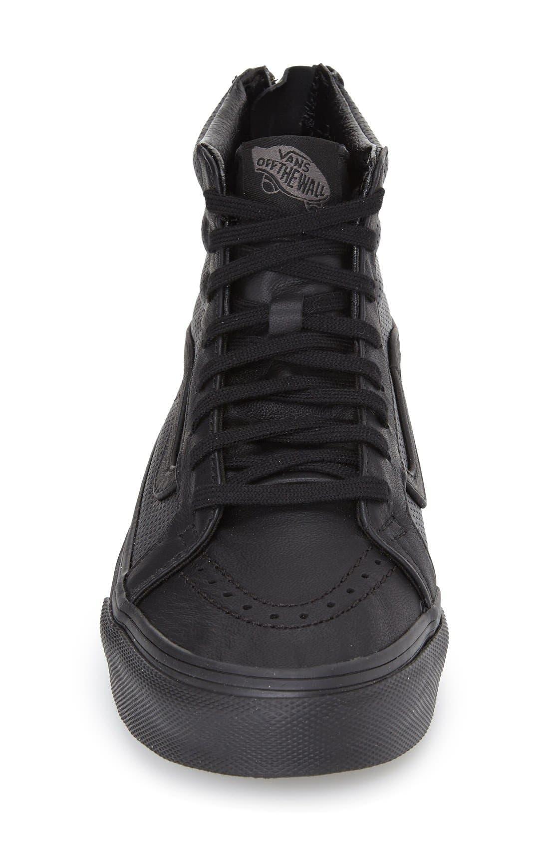 'Sk8-Hi Slim' Perforated Sneaker,                             Alternate thumbnail 9, color,