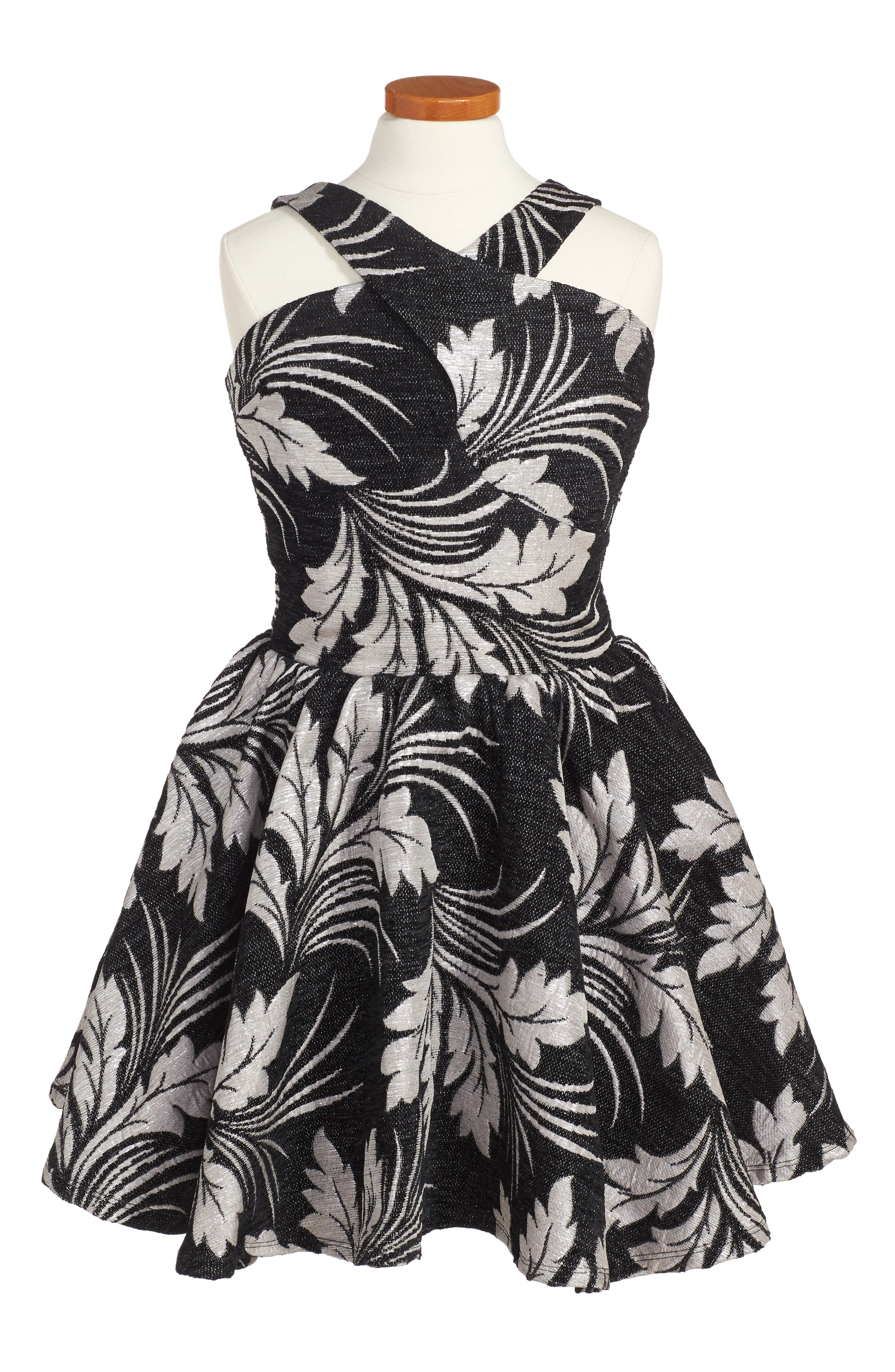 Wiona Dress,                         Main,                         color, 001