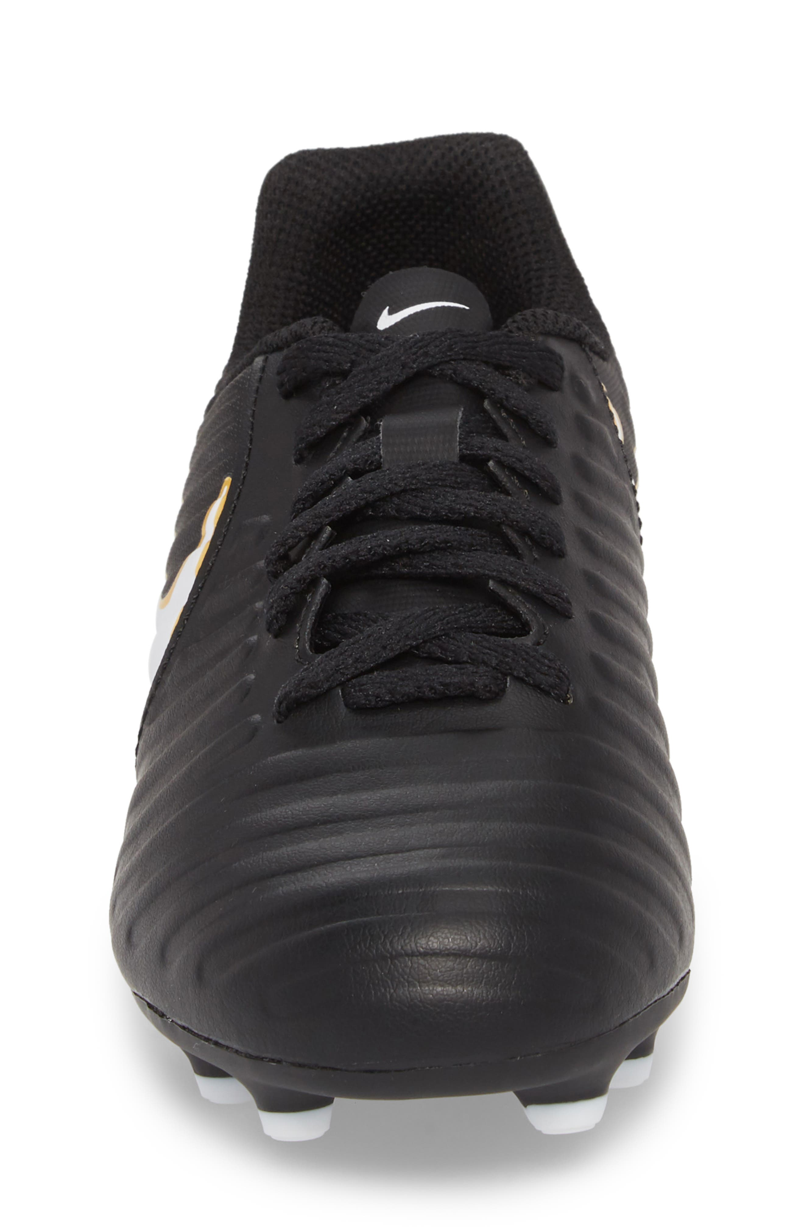 Tiempo Legend 7 Club Firm Ground Soccer Shoe,                             Alternate thumbnail 4, color,                             002