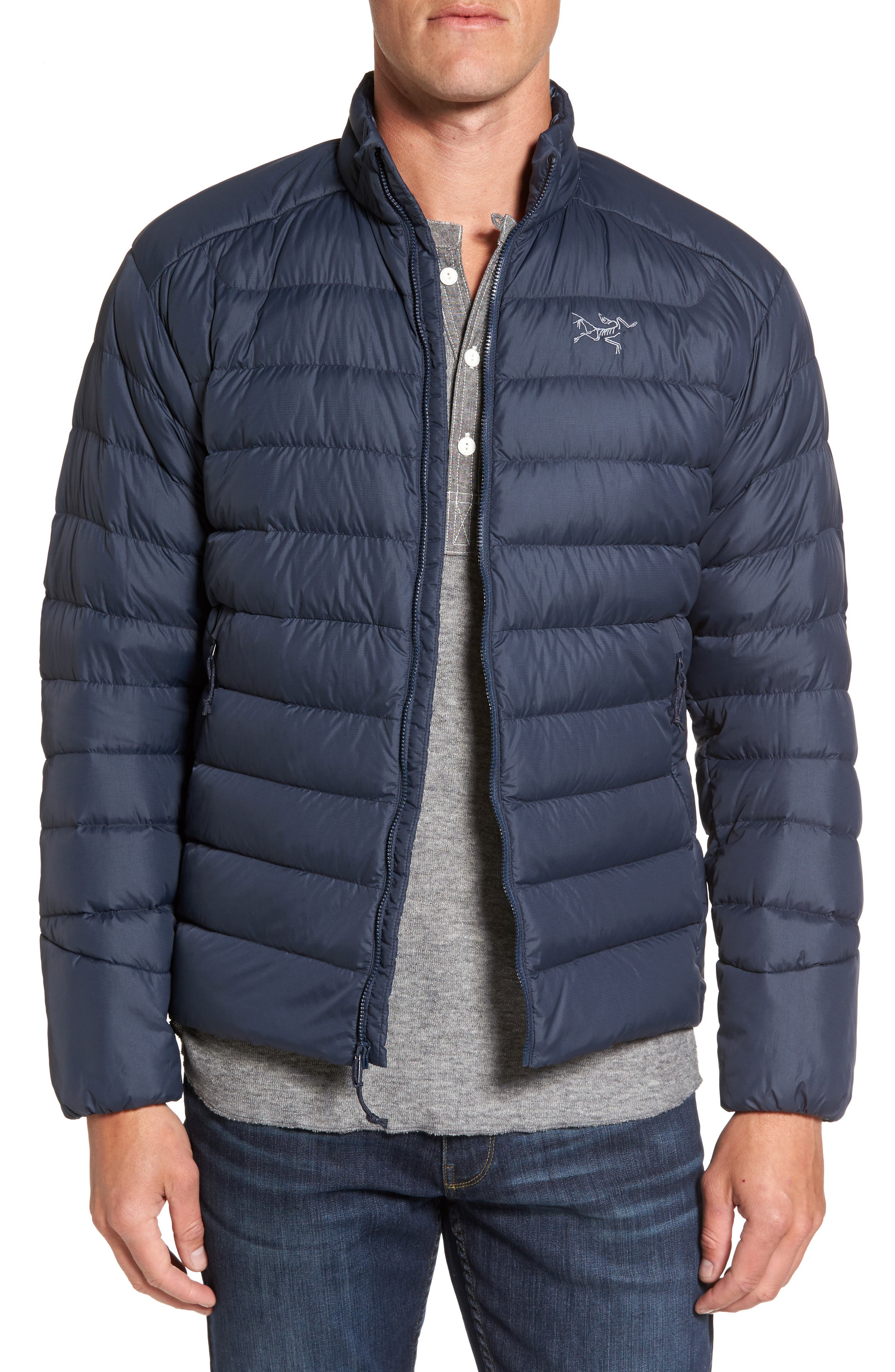 Thorium AR Water Resistant 750 Fill Power Down Jacket,                             Main thumbnail 1, color,                             400