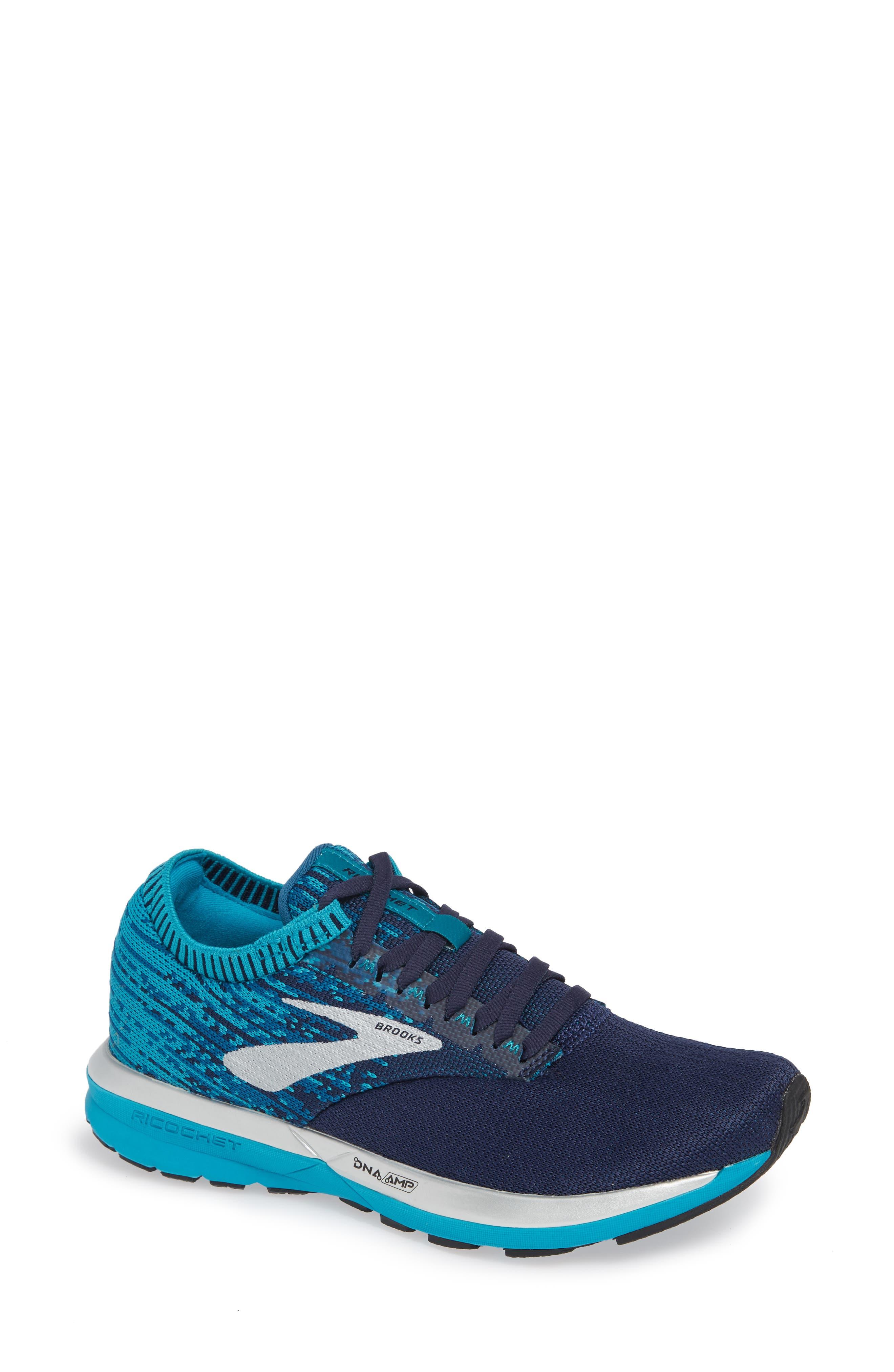 Brooks Ricochet Running Shoe B - Blue