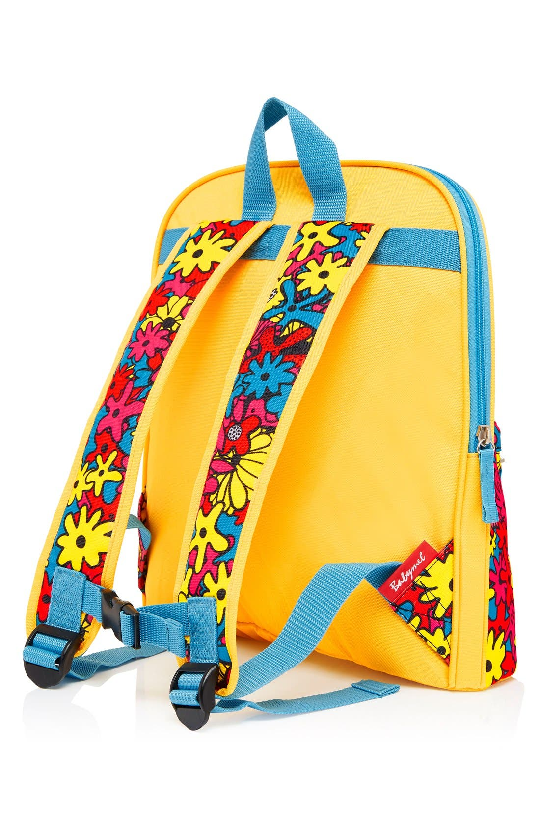 Print Backpack,                             Alternate thumbnail 8, color,                             FLORAL BRIGHTS