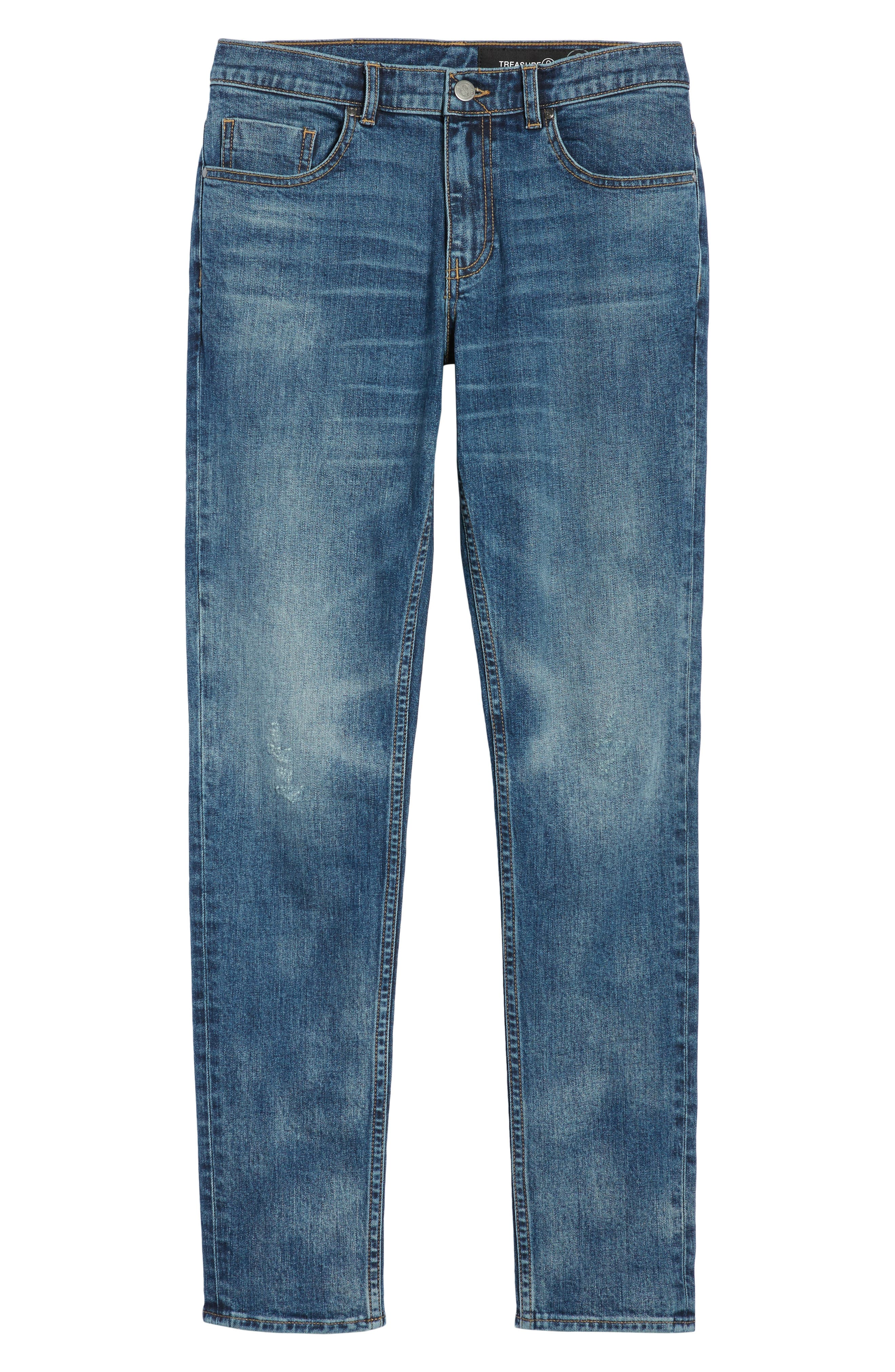 Skinny Fit Jeans,                             Alternate thumbnail 6, color,