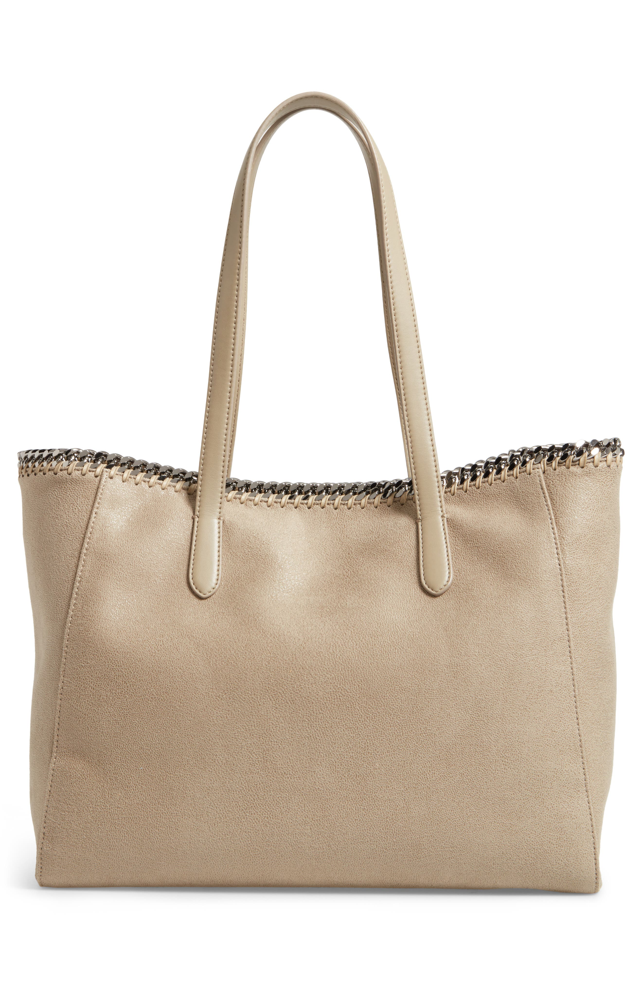 'Falabella - Shaggy Deer' Faux Leather Tote,                             Alternate thumbnail 11, color,