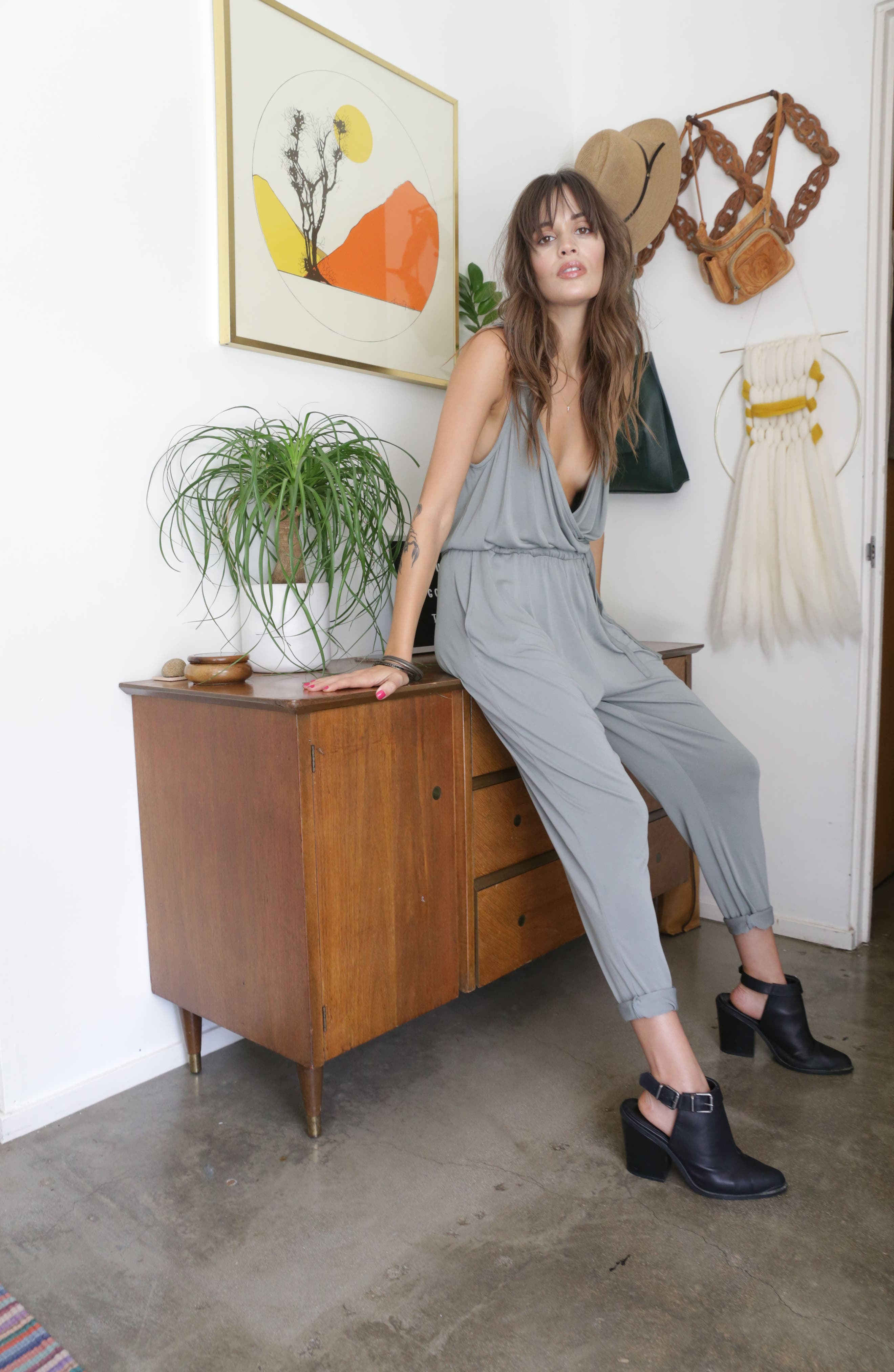 Marni Jumpsuit,                             Alternate thumbnail 9, color,                             SAGE