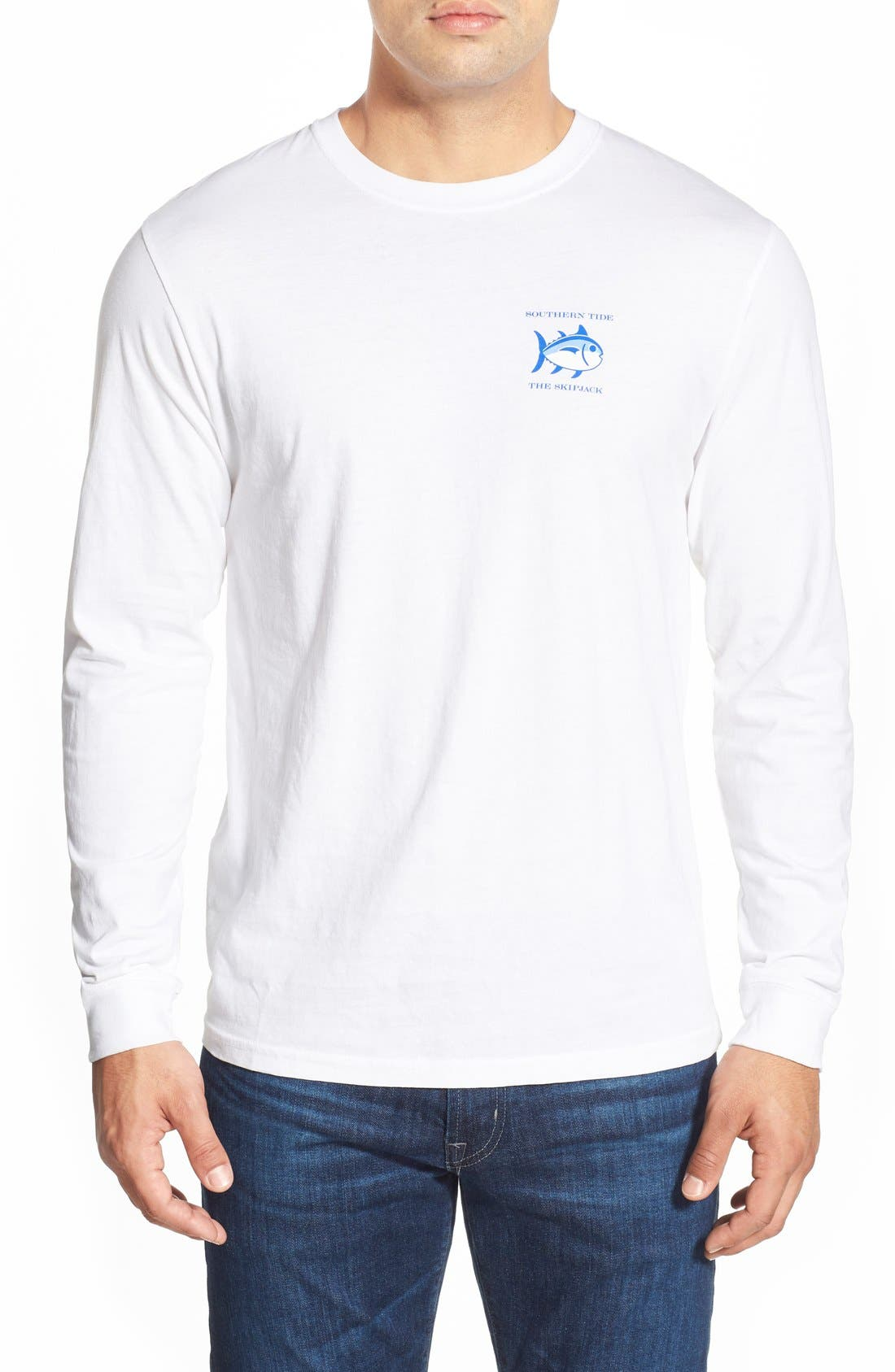 'Skipjack'Long Sleeve Graphic T-Shirt,                             Alternate thumbnail 15, color,