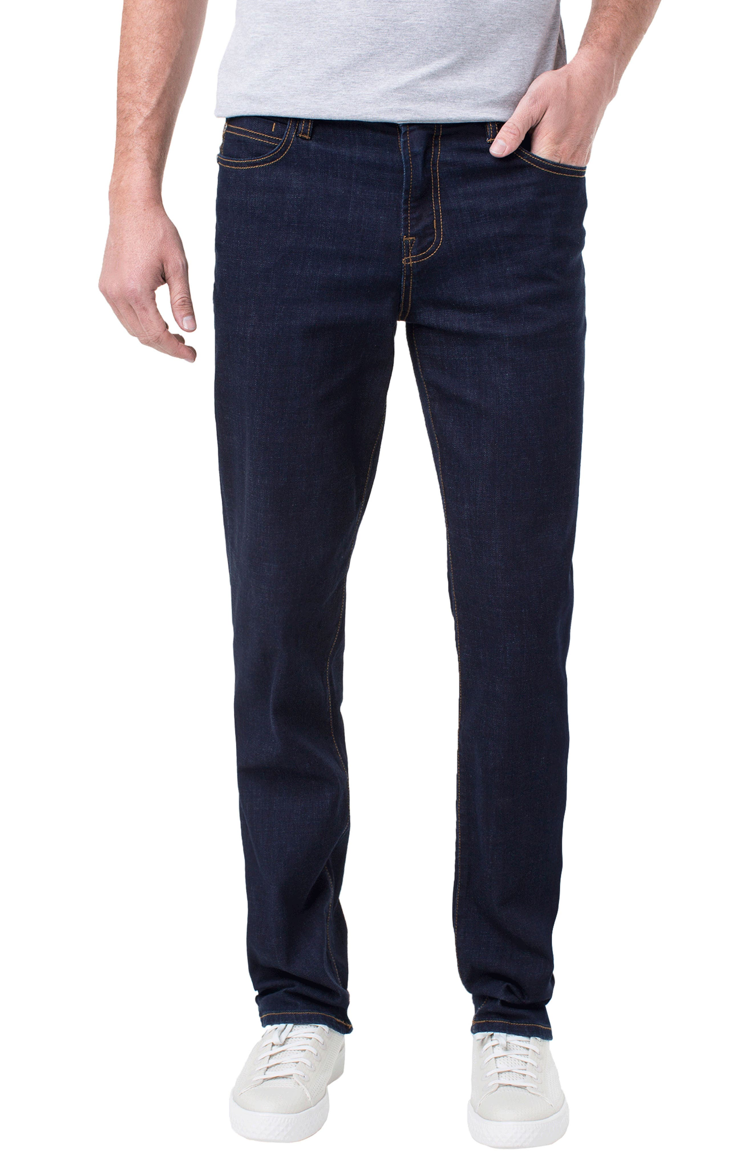Kingston Slim Straight Leg Jeans,                             Main thumbnail 1, color,                             MODERN RINSE
