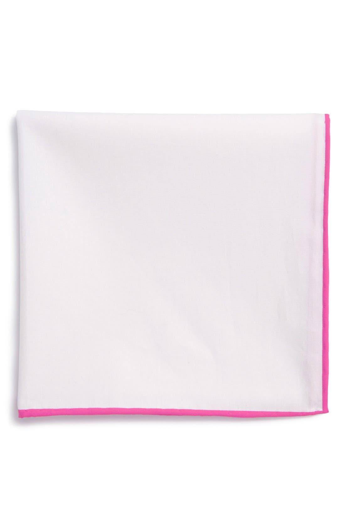 Cotton Solid Pocket Square,                             Main thumbnail 6, color,