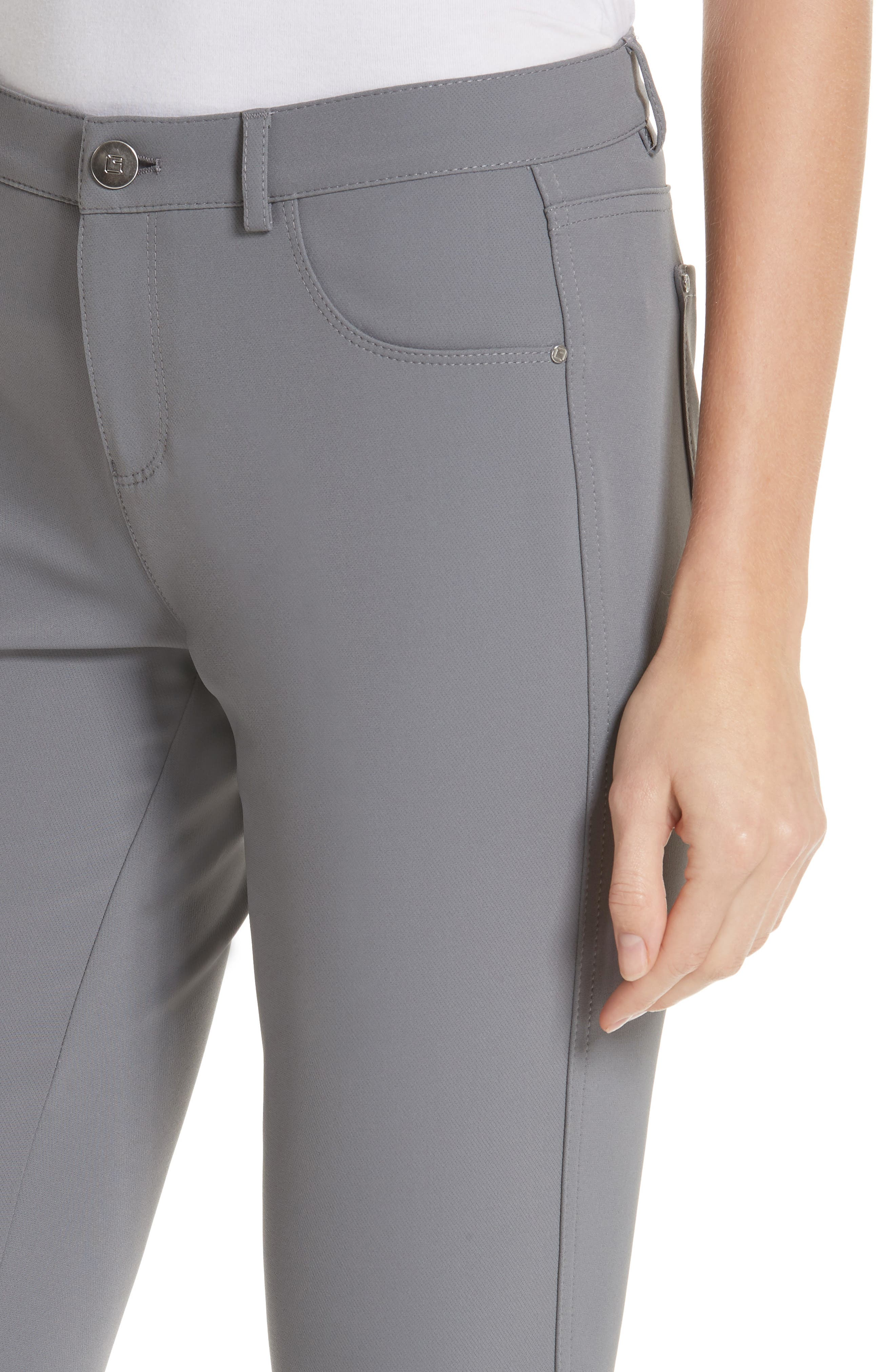 LAFAYETTE 148 NEW YORK,                             Mercer Acclaimed Stretch Skinny Pants,                             Alternate thumbnail 4, color,                             CINDER