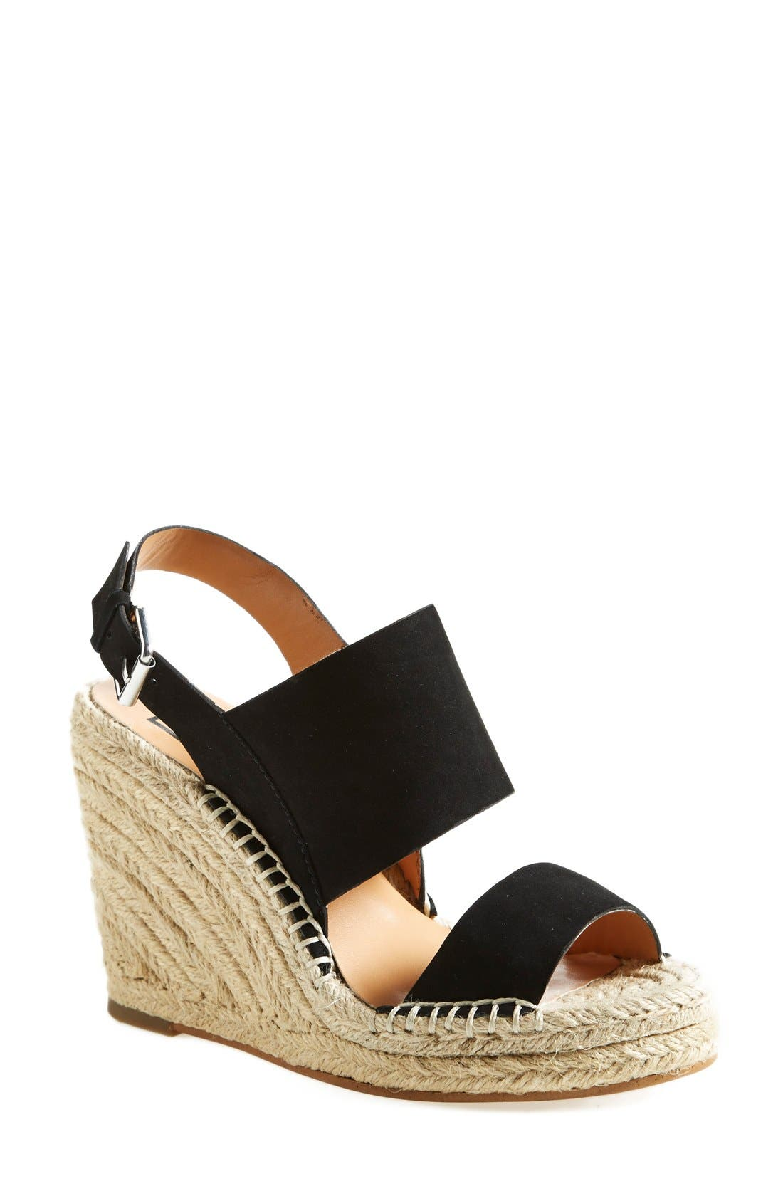 DV BY DOLCE VITA 'Shady' Wedge Sandal, Main, color, 001