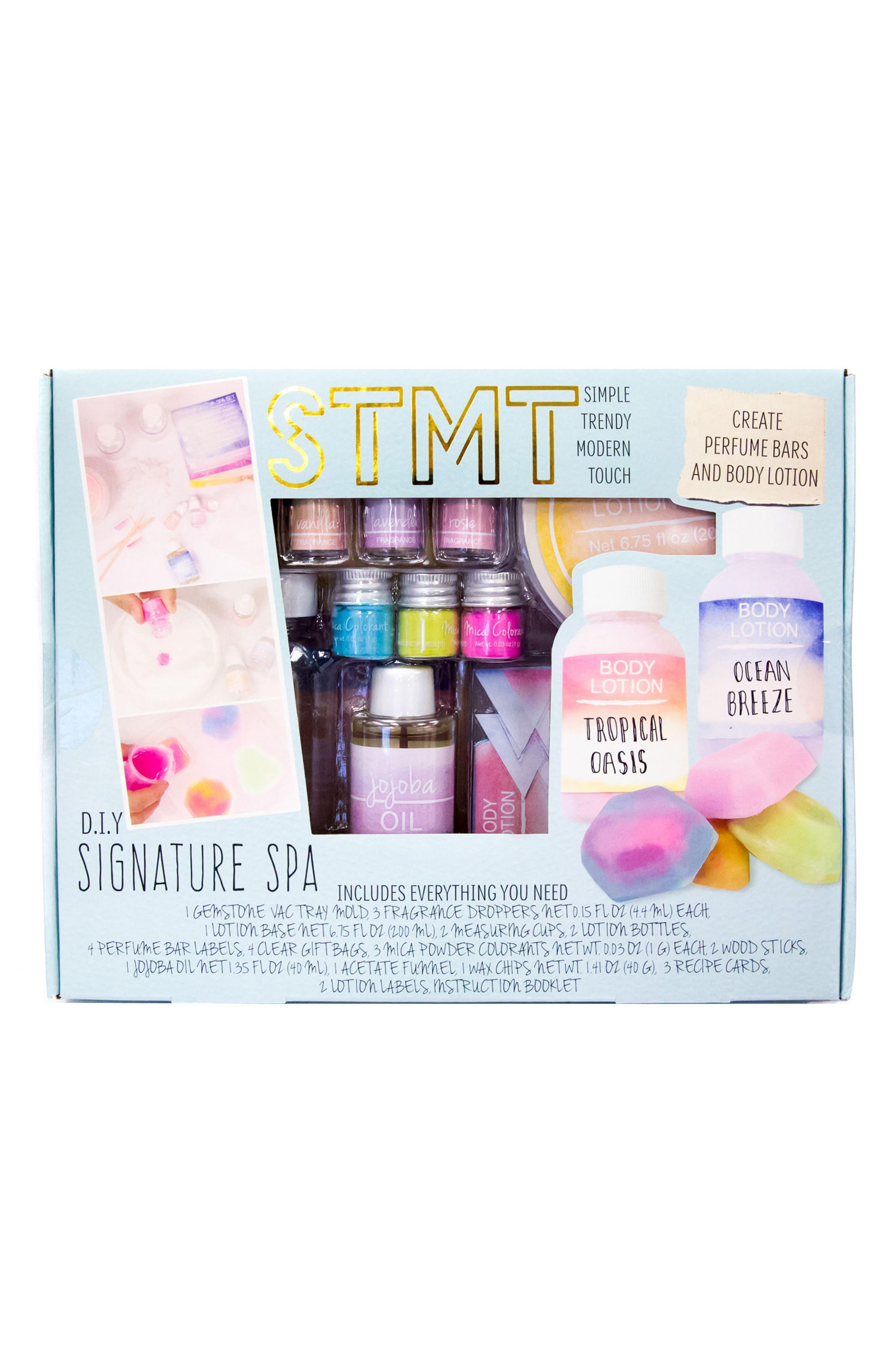 DIY Signature Spa Kit,                             Main thumbnail 1, color,
