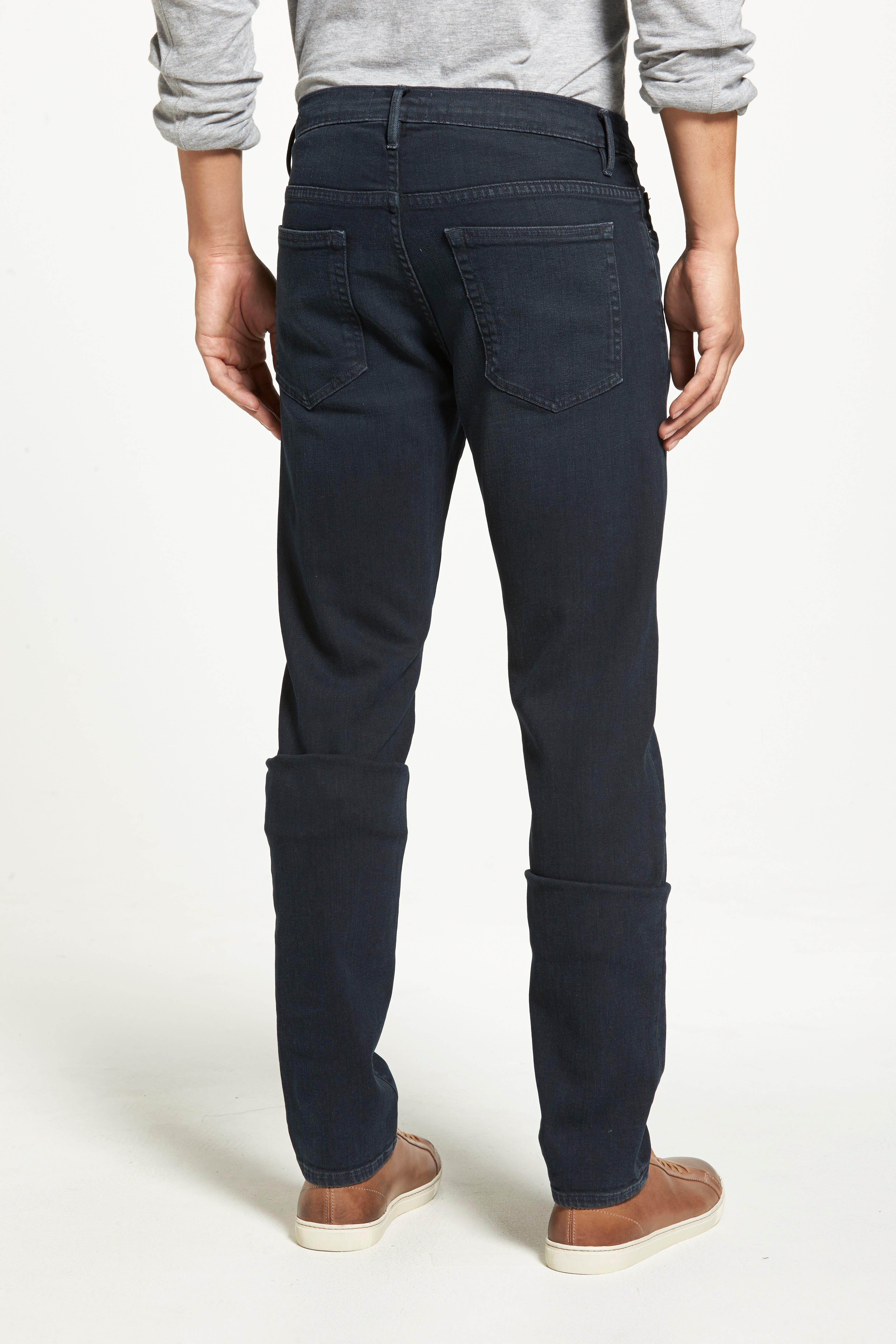 'L'Homme' Slim Fit Jeans,                             Alternate thumbnail 7, color,                             PLACID