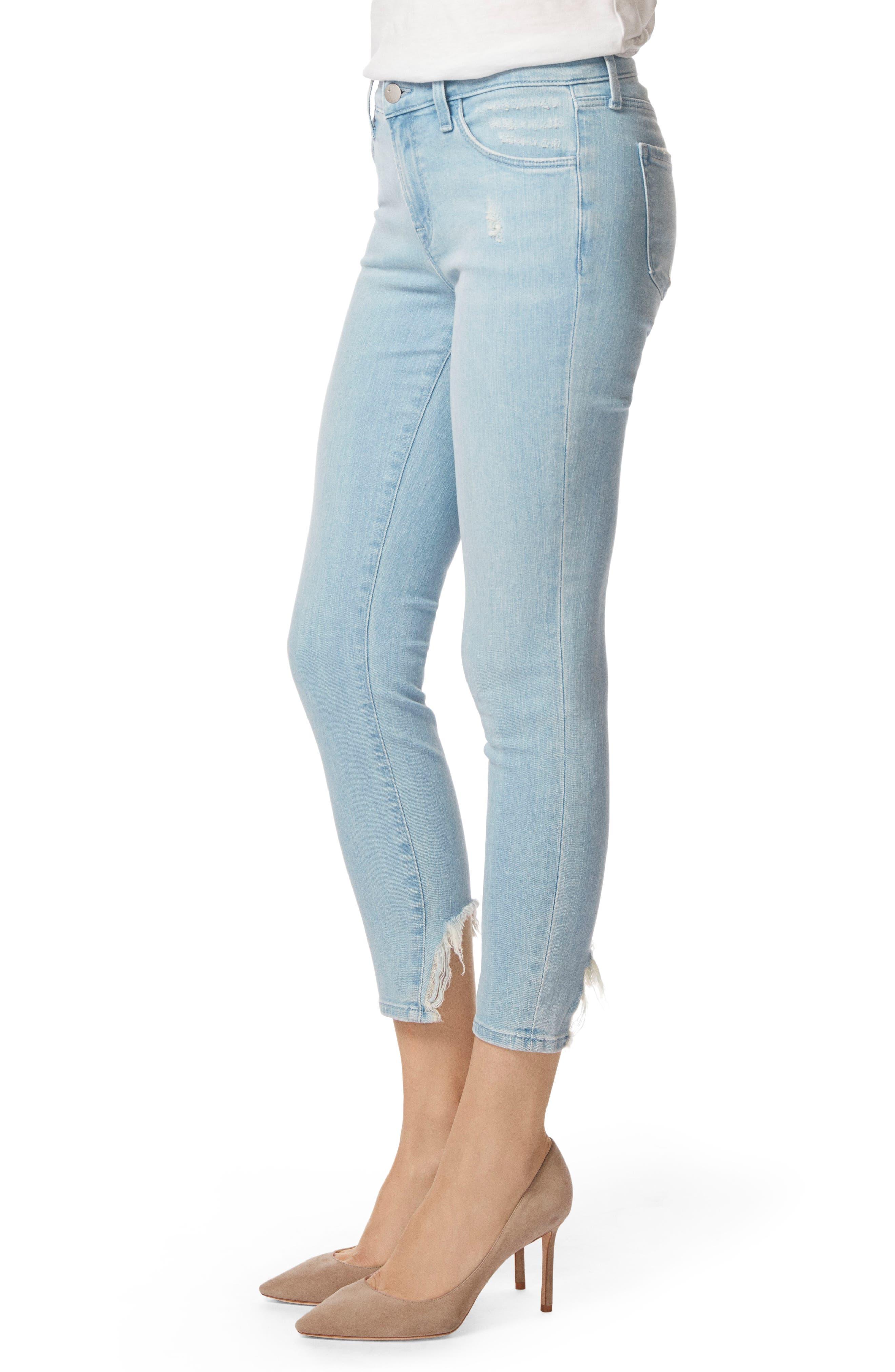 835 Capri Skinny Jeans,                             Alternate thumbnail 3, color,                             454