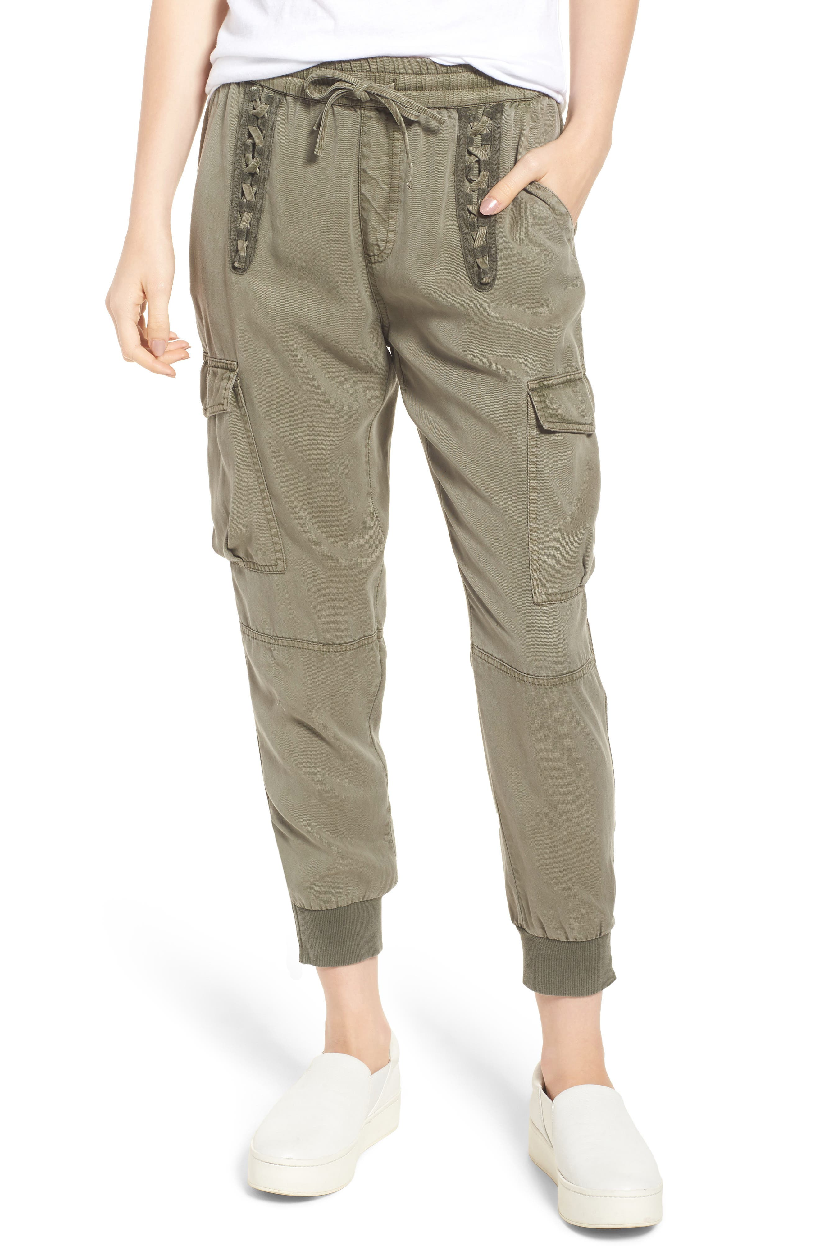 Cargo Jogger Pants,                         Main,                         color, FREEDOM GREEN
