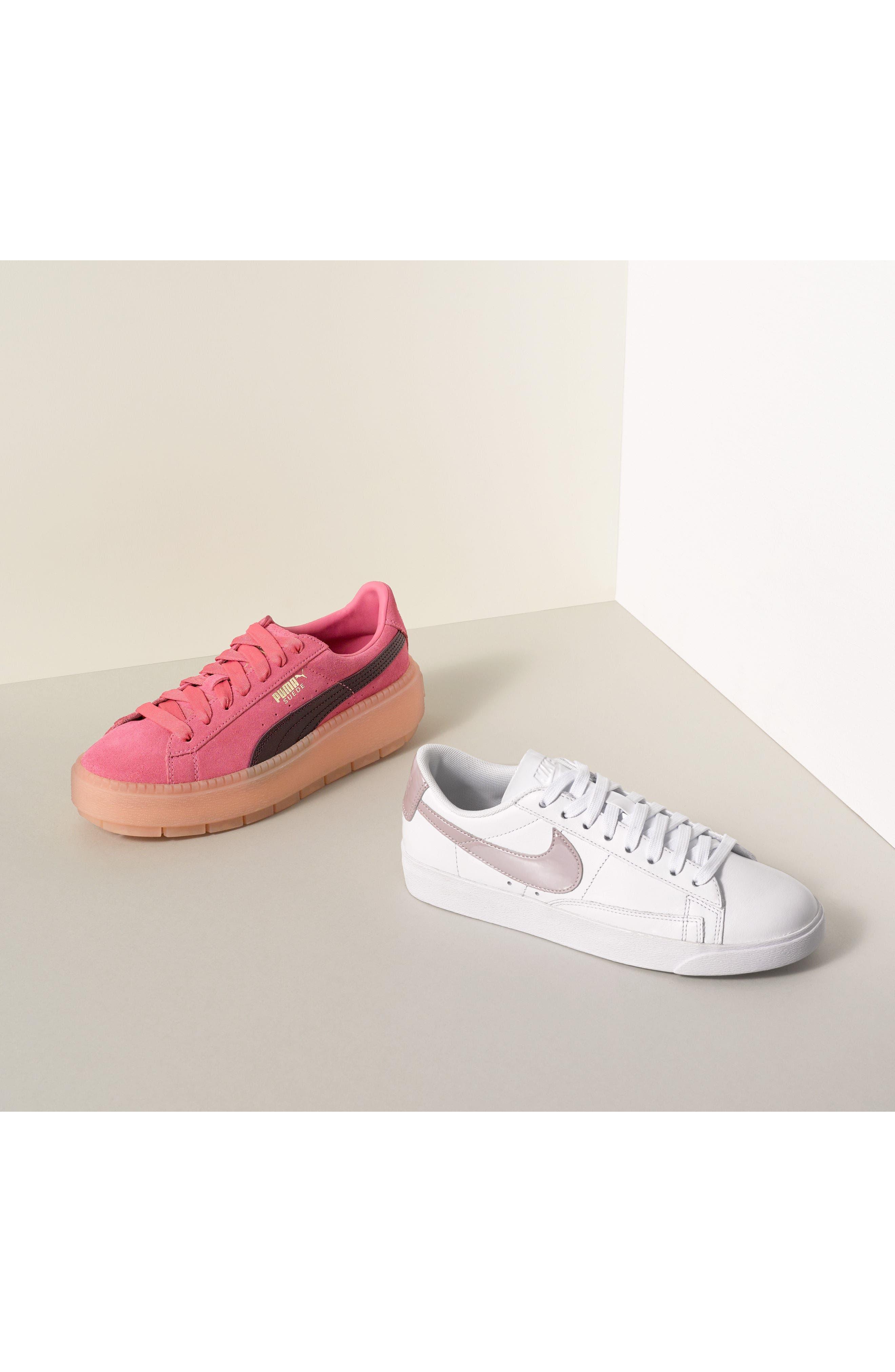 Platform Trace Sneaker,                             Alternate thumbnail 7, color,                             001