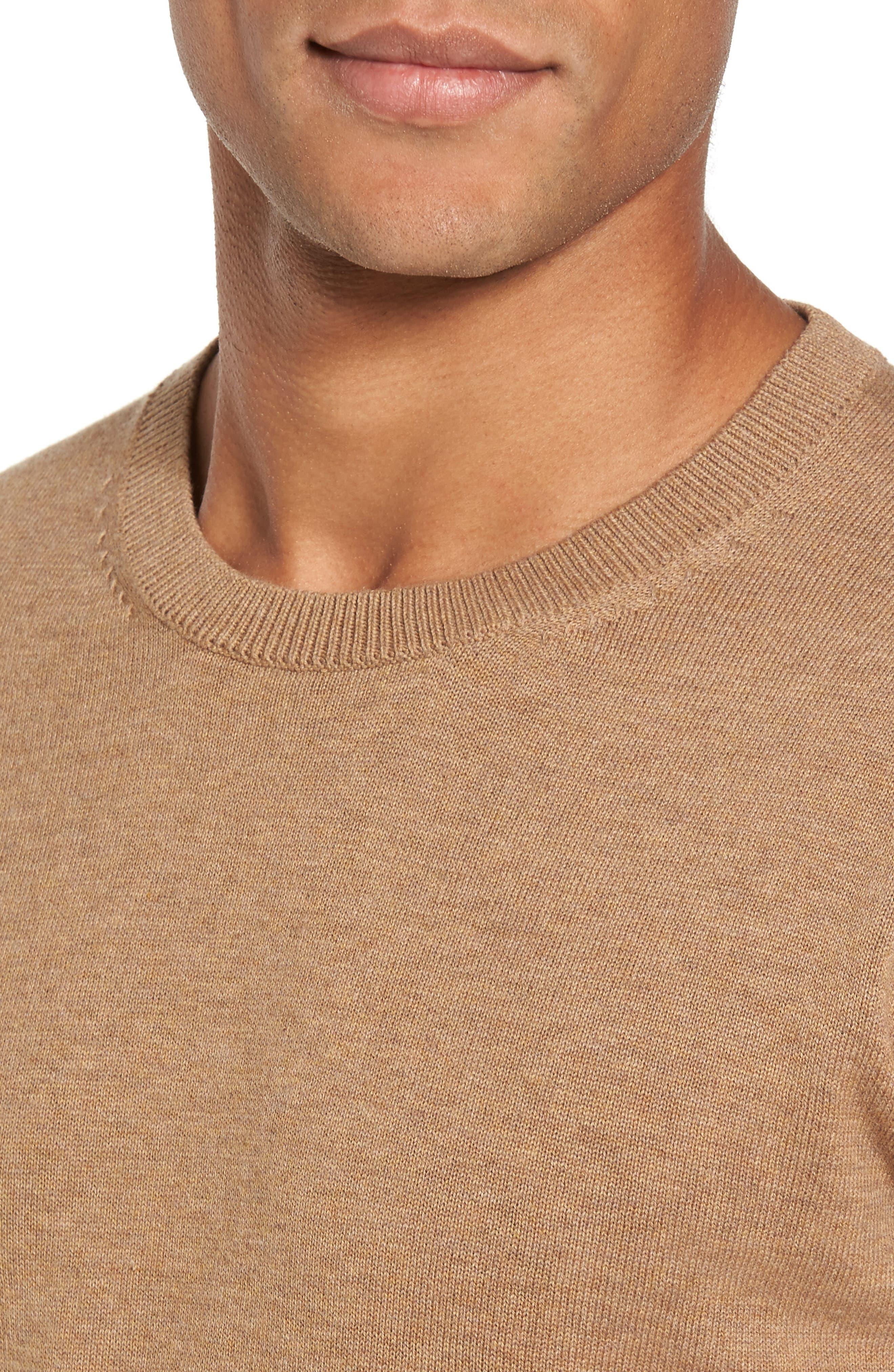 Portrait Crewneck Sweater,                             Alternate thumbnail 11, color,