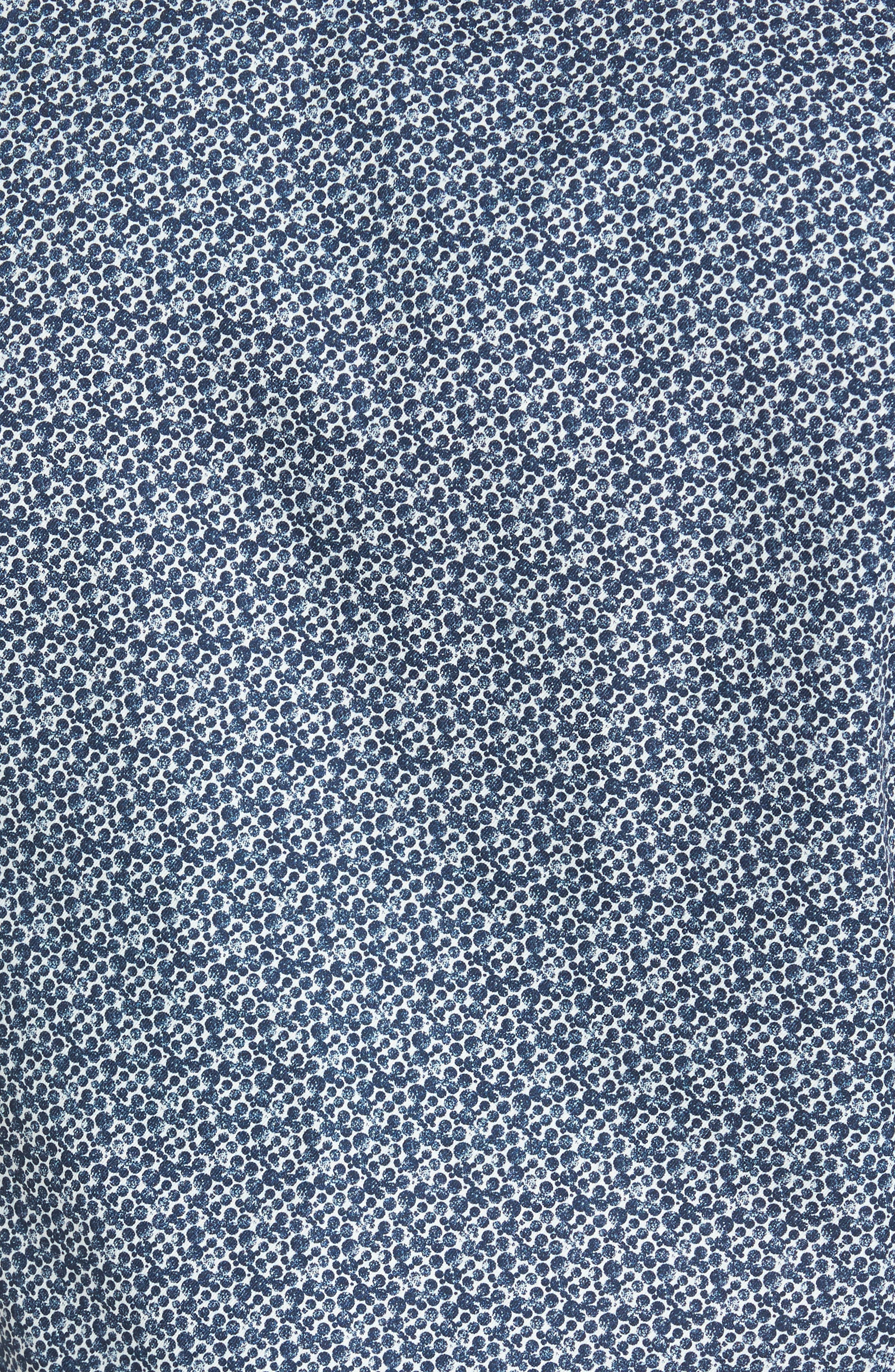 Bubbly Extra Slim Fit Print Sport Shirt,                             Alternate thumbnail 5, color,                             410