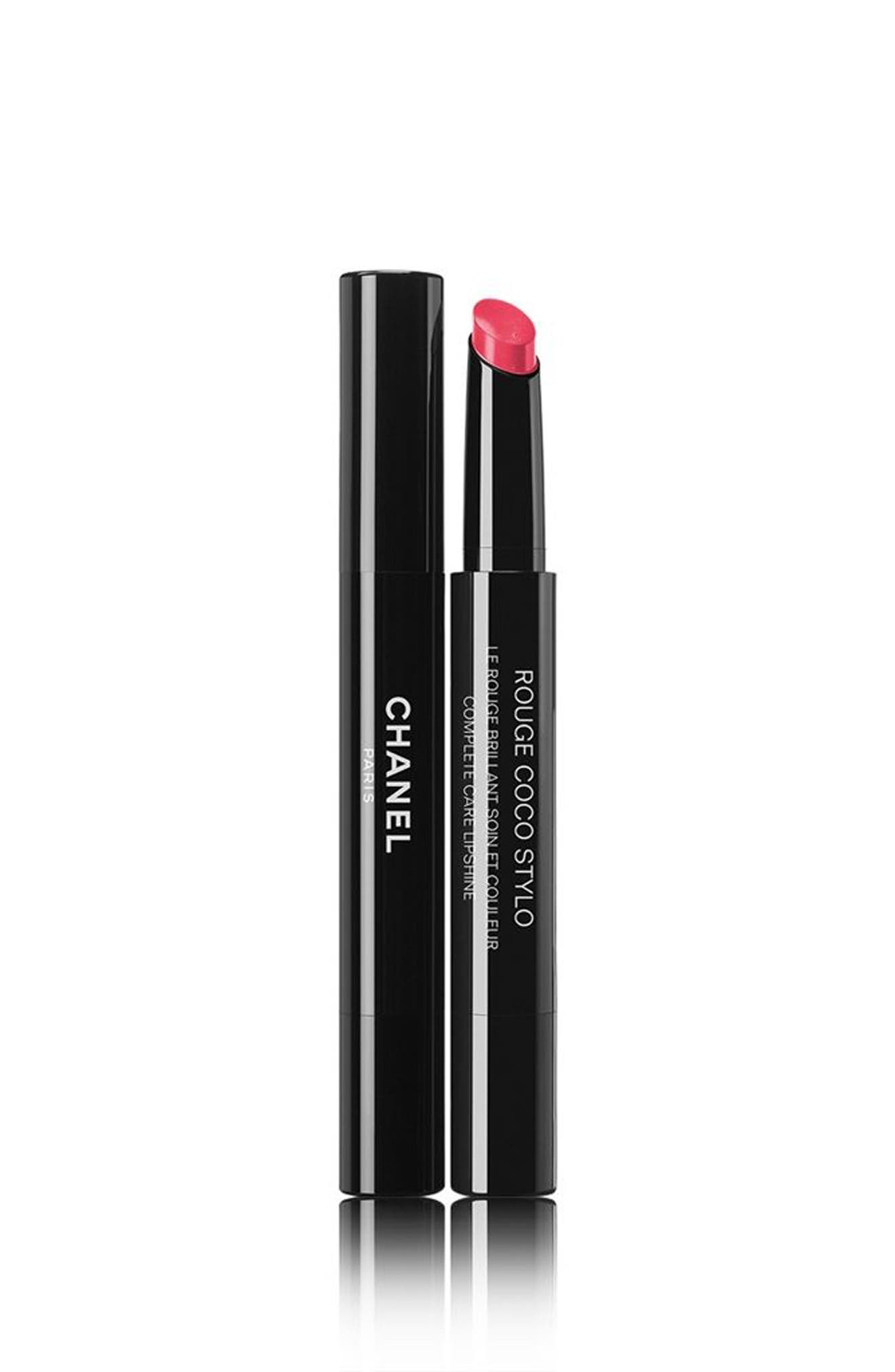 ROUGE COCO STYLO<br />Complete Care Lipshine,                             Main thumbnail 1, color,                             226 CALLIGRAPHIE