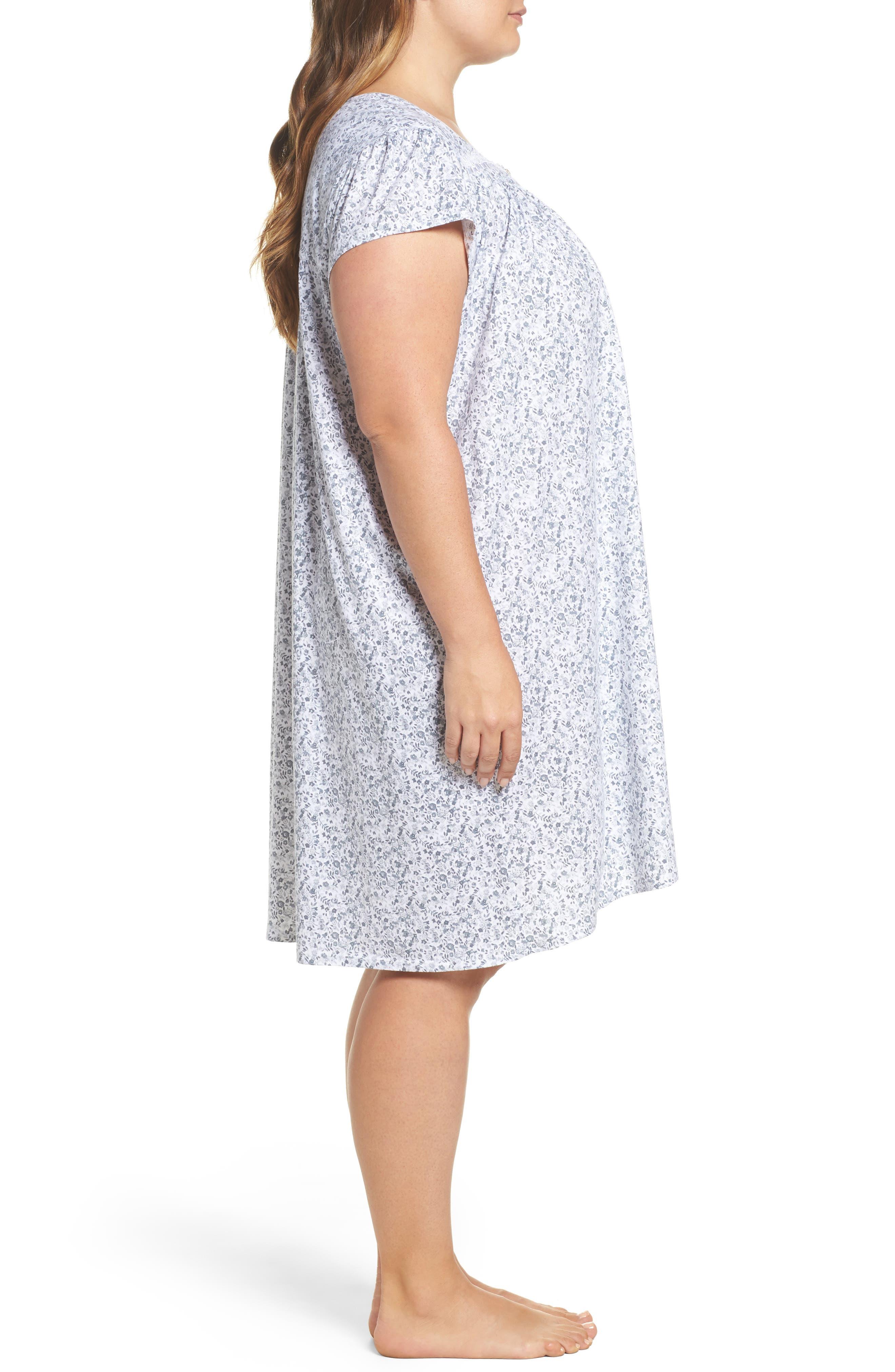 Short Nightgown,                             Alternate thumbnail 3, color,                             020