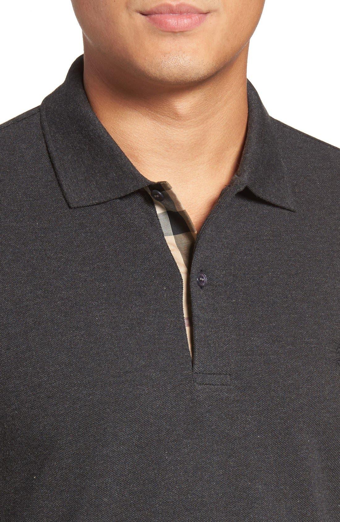 Brit 'Oxford' Long Sleeve Polo,                             Alternate thumbnail 27, color,