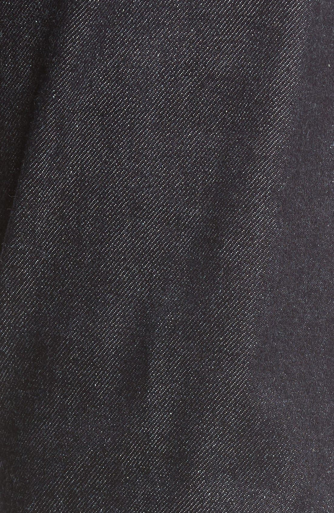 UB422 Selvedge Skinny Fit Jeans,                             Alternate thumbnail 5, color,                             401