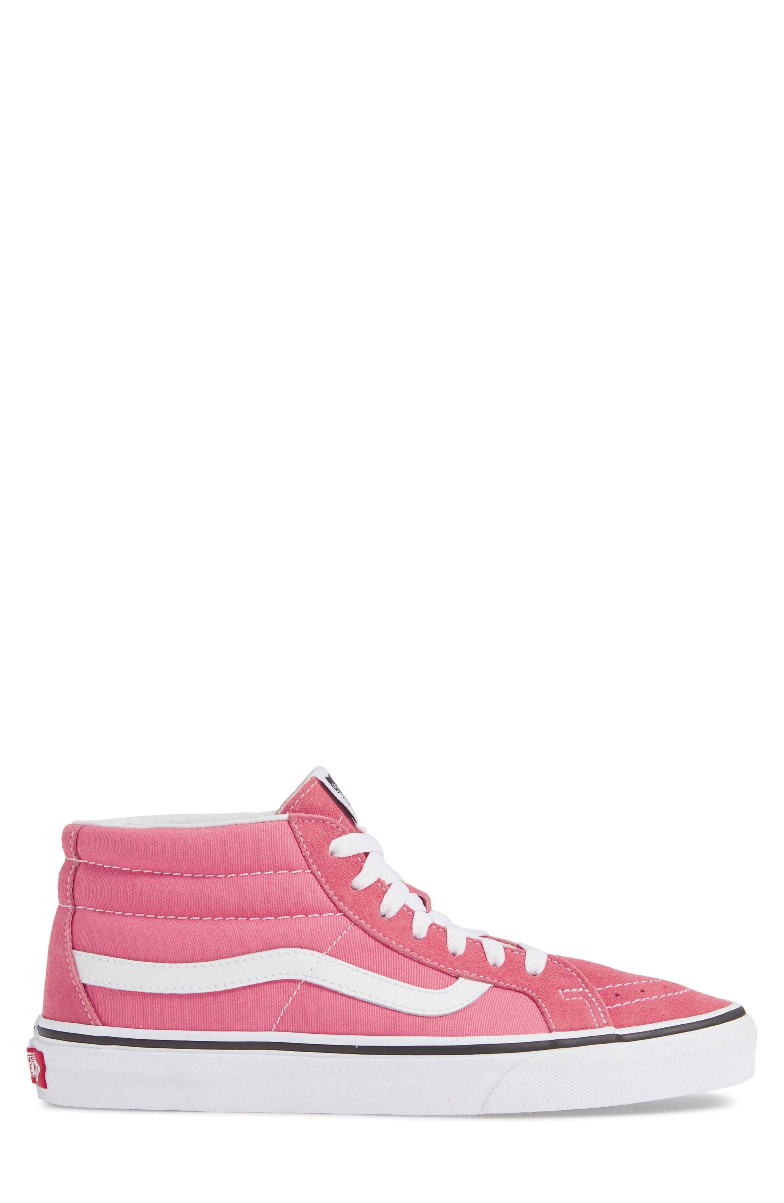 VANS,                             Sk8-Mid Reissue Sneaker,                             Alternate thumbnail 3, color,                             660