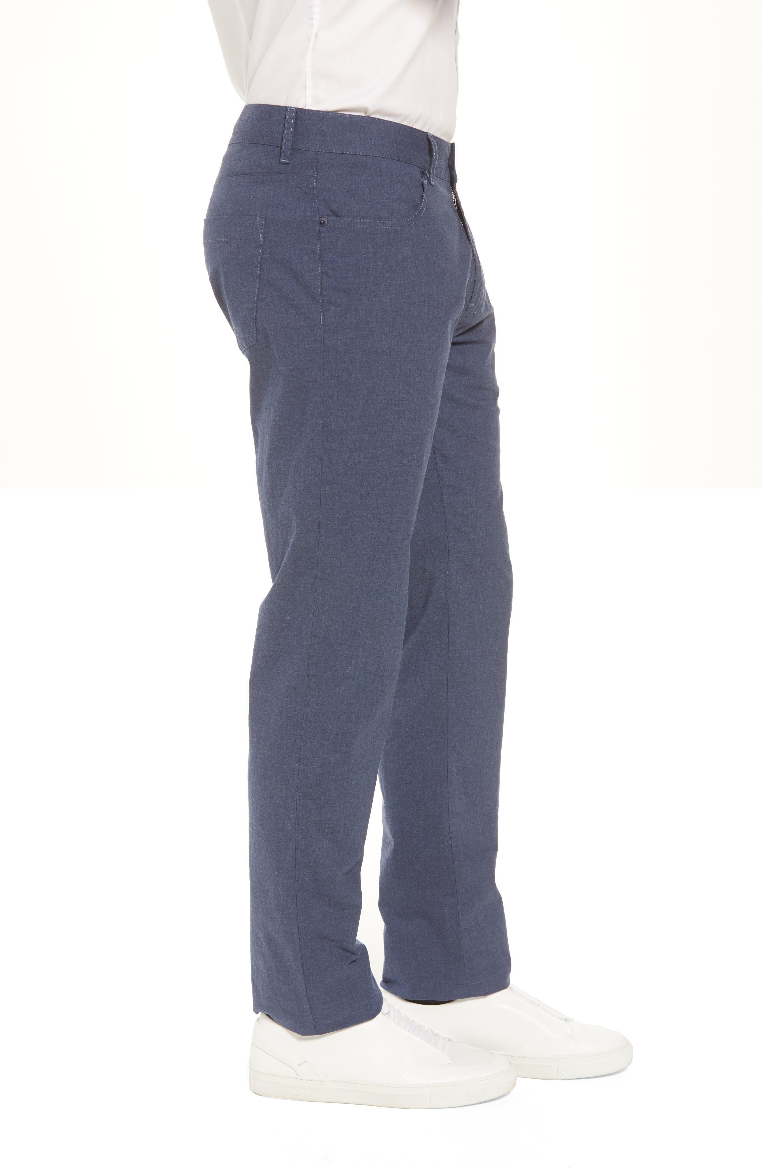 McKinney Regular Fit Straight Leg Pants,                             Alternate thumbnail 3, color,                             BLUE