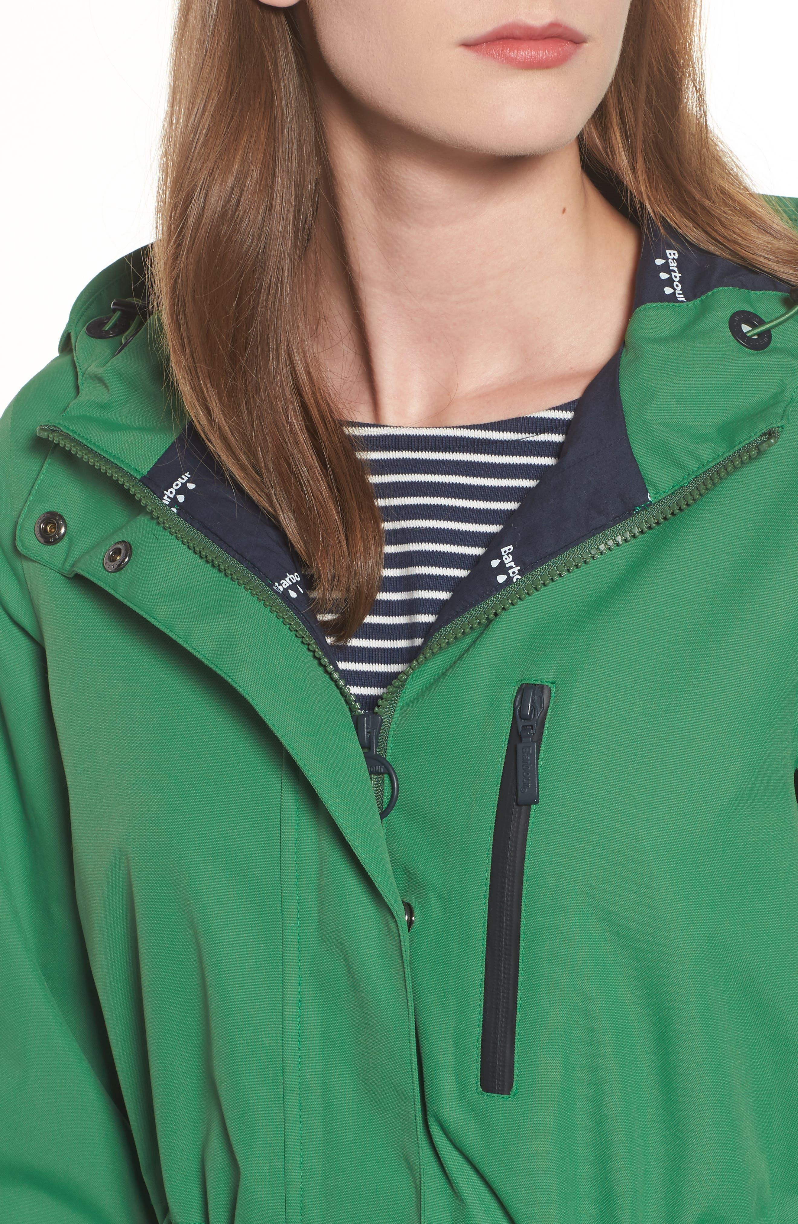 Sleet Hooded Jacket,                             Alternate thumbnail 7, color,