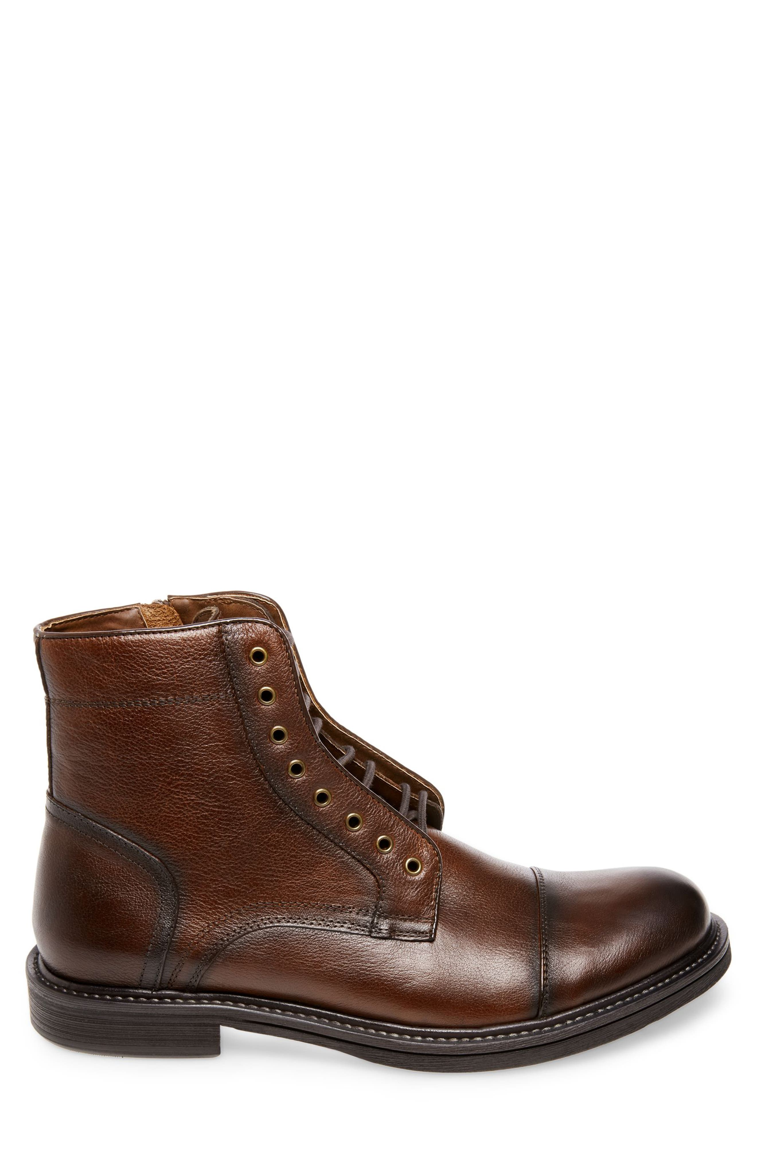 Chariot Boot,                             Alternate thumbnail 2, color,                             COGNAC LEATHER