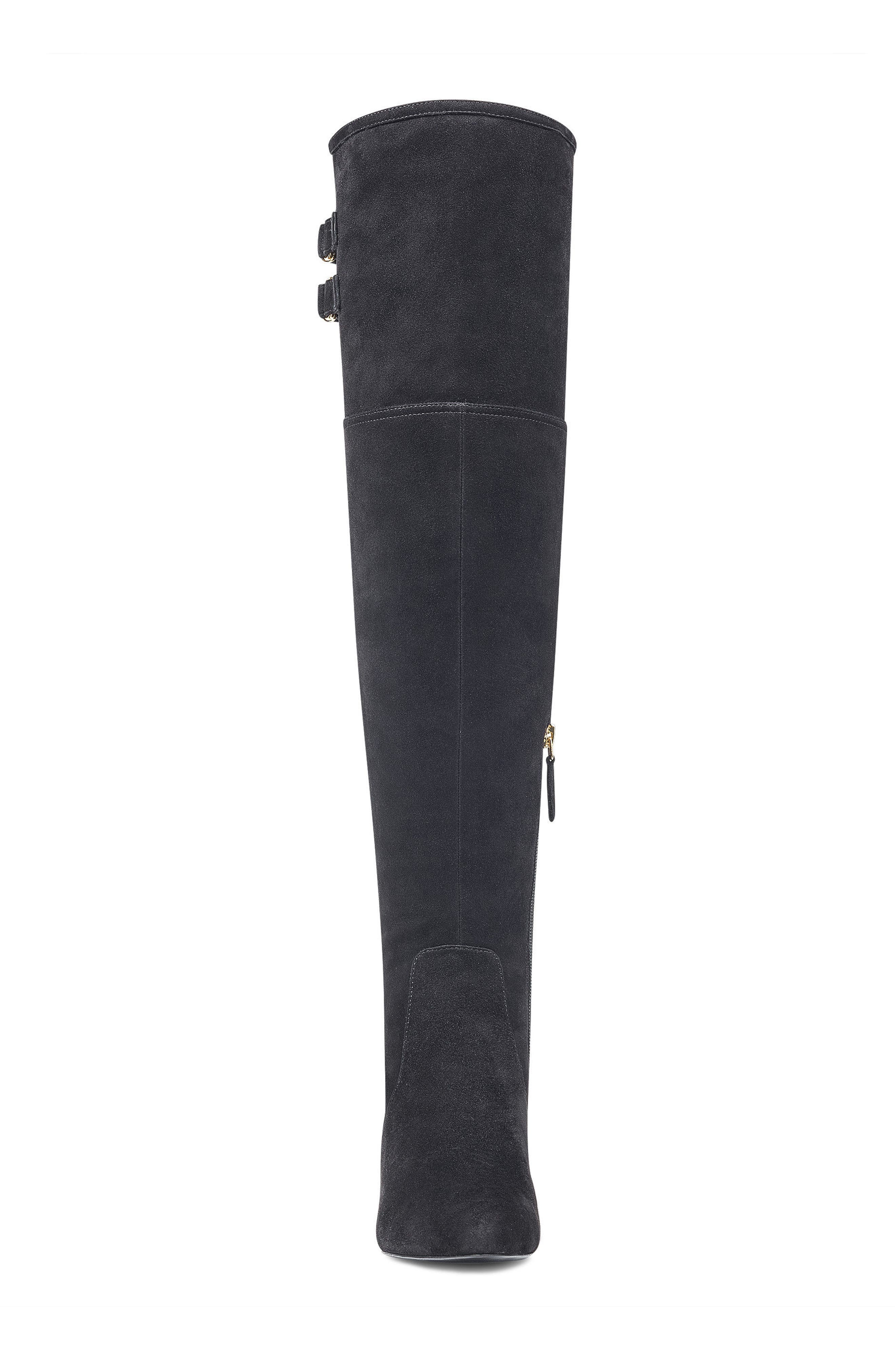 NINE WEST,                             Jaen Over the Knee Boot,                             Alternate thumbnail 4, color,                             001