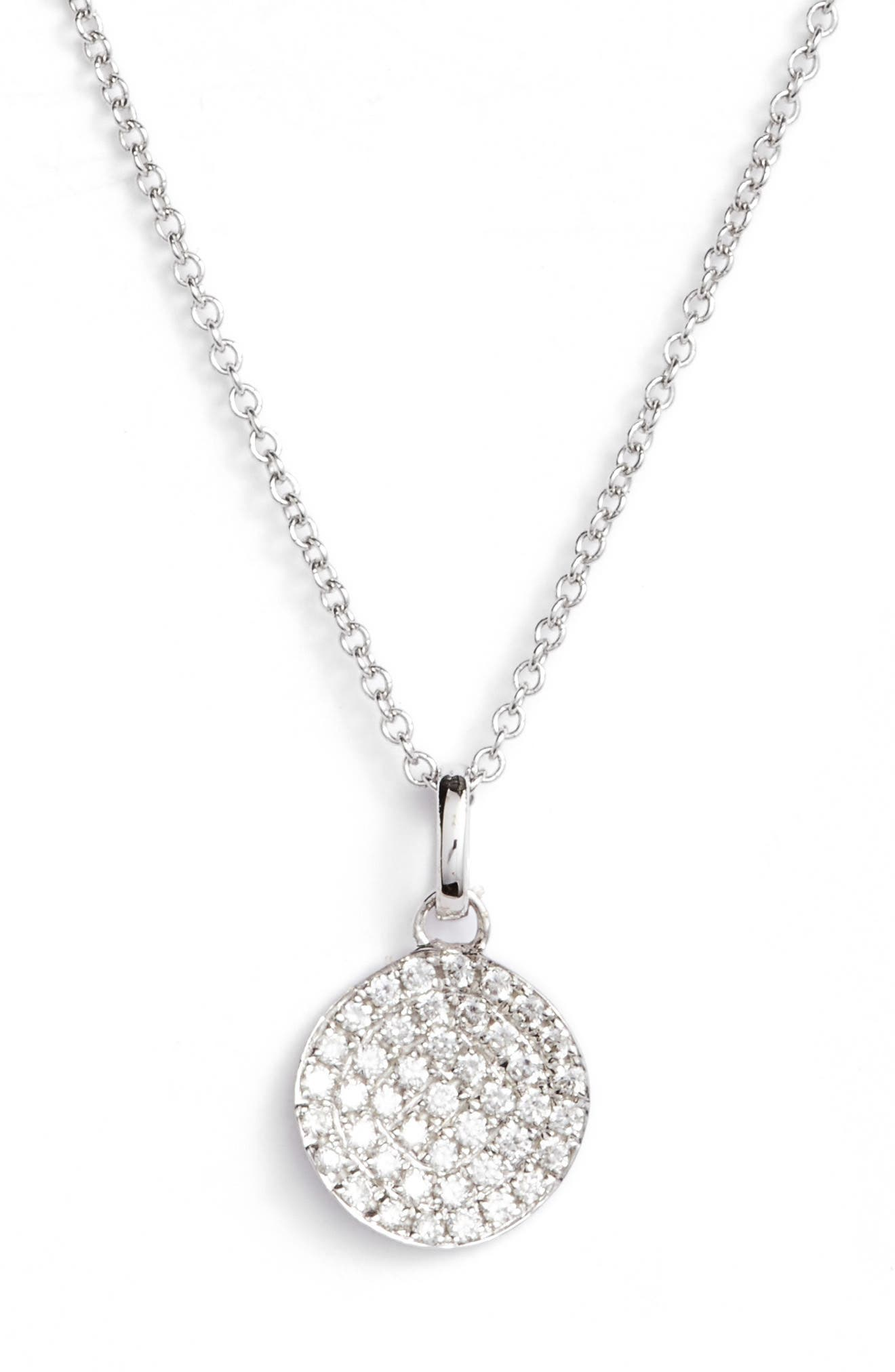 Diamond Pendant Necklace,                         Main,                         color,