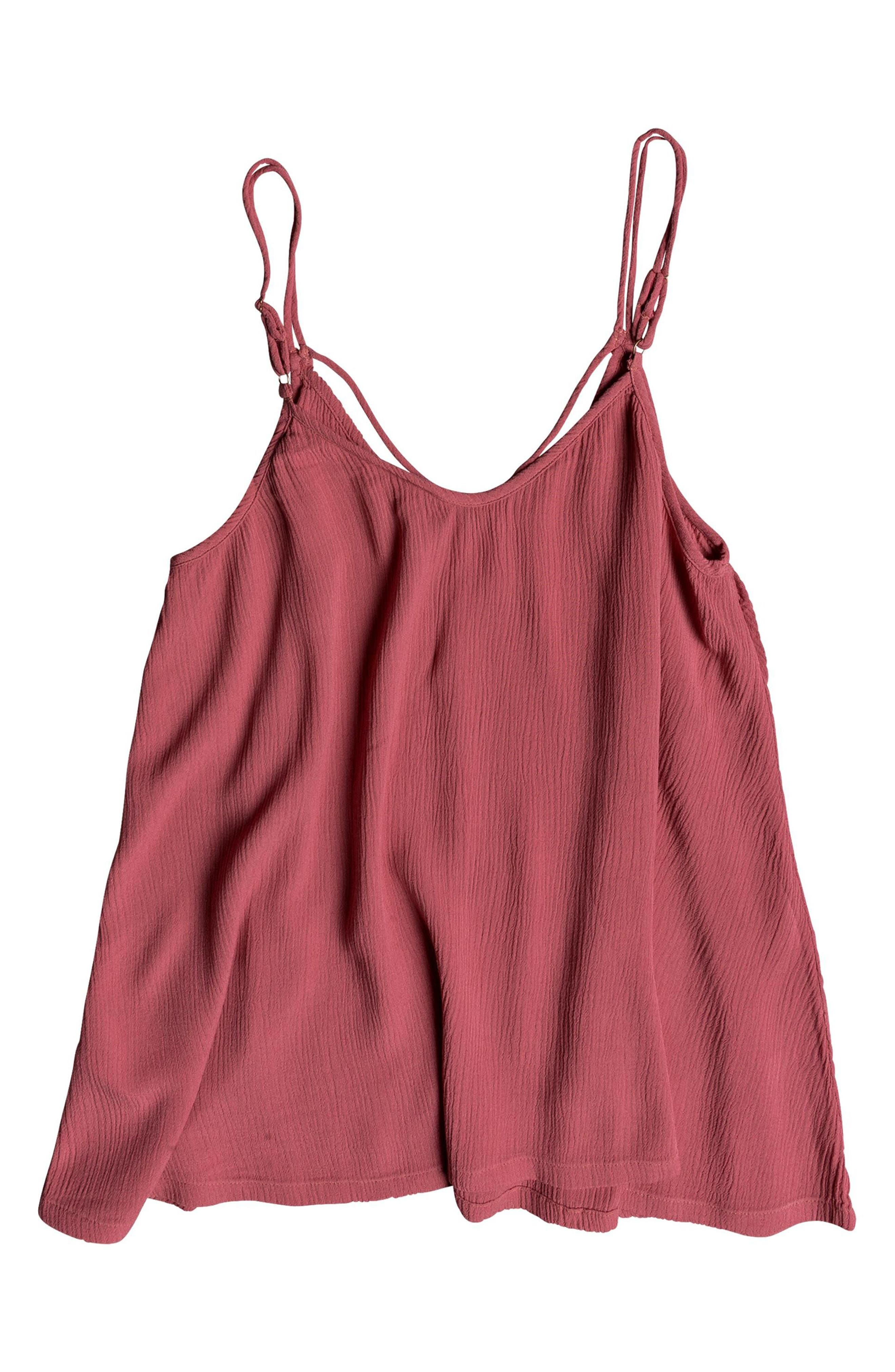 Final Days Tank Top,                             Alternate thumbnail 3, color,                             HOLLY BERRY
