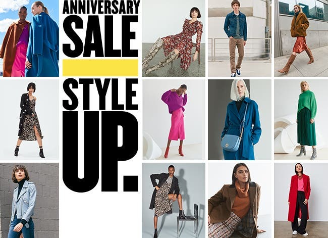 Anniversary Sale. Style up: our favorite looks from our catalog.