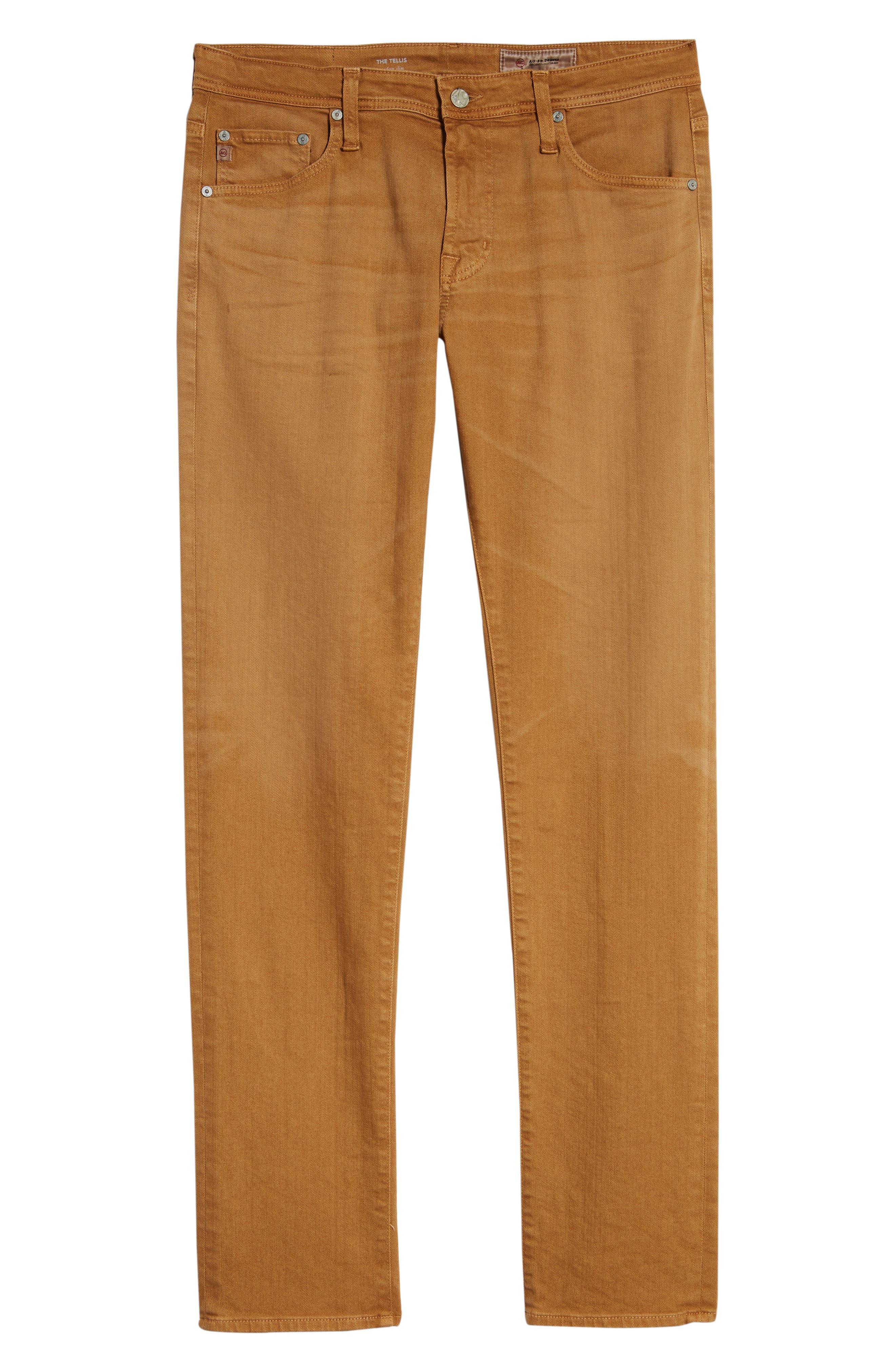 Tellis Slim Fit Jeans,                             Alternate thumbnail 6, color,                             7 YEARS TIMBER