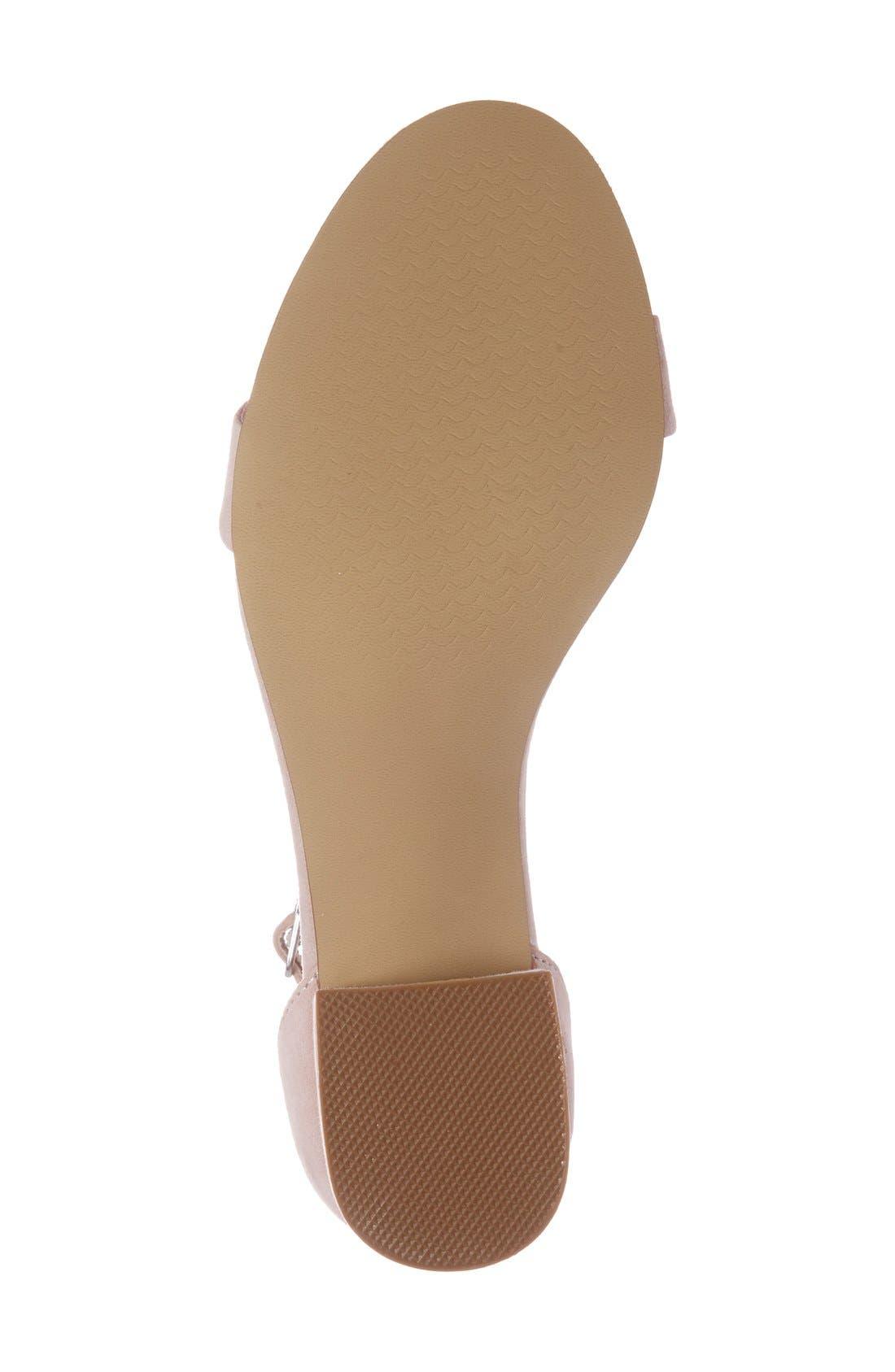 Irenee Ankle Strap Sandal,                             Alternate thumbnail 112, color,