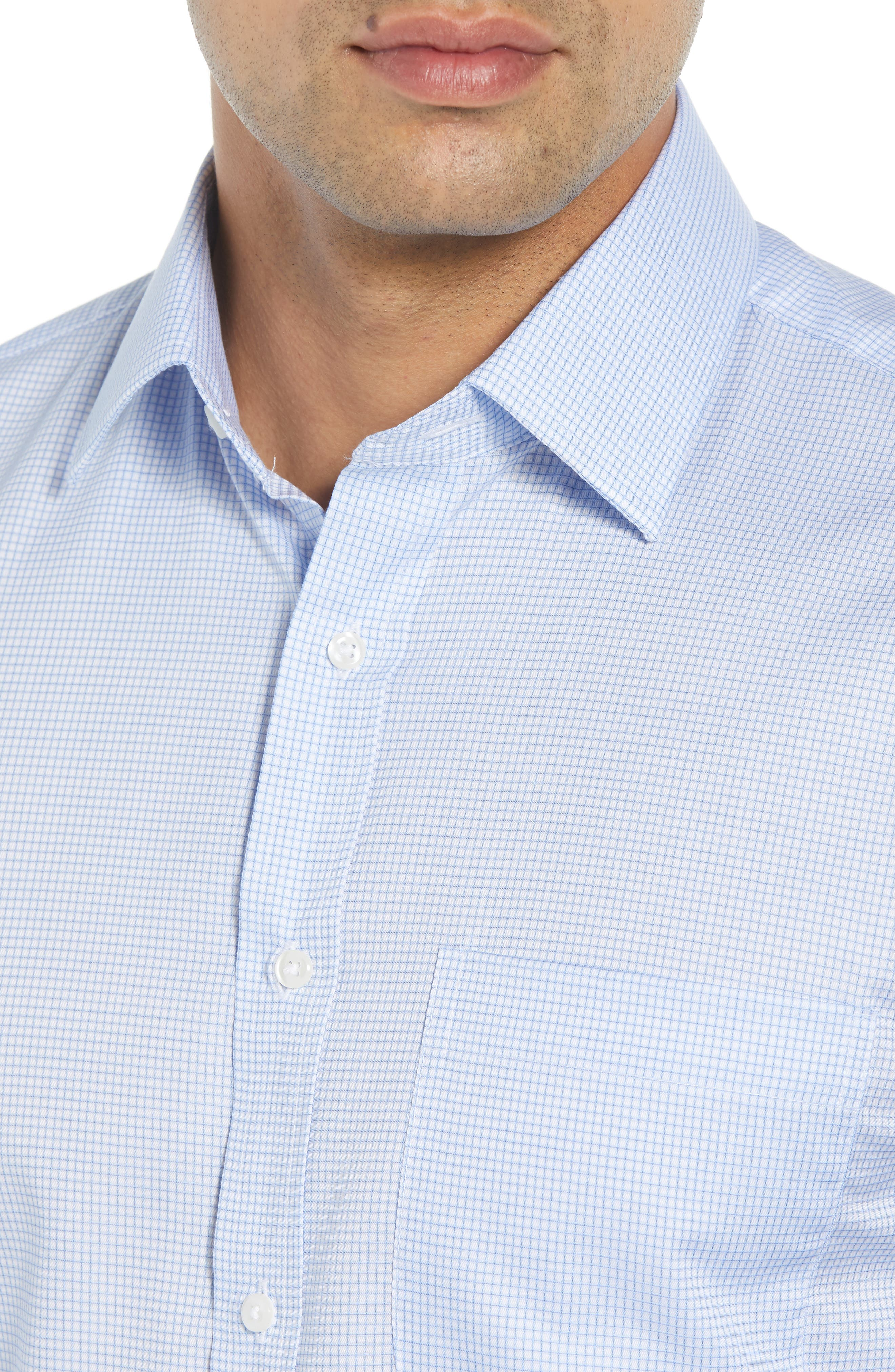Traditional Fit Check Dress Shirt,                             Alternate thumbnail 2, color,                             450