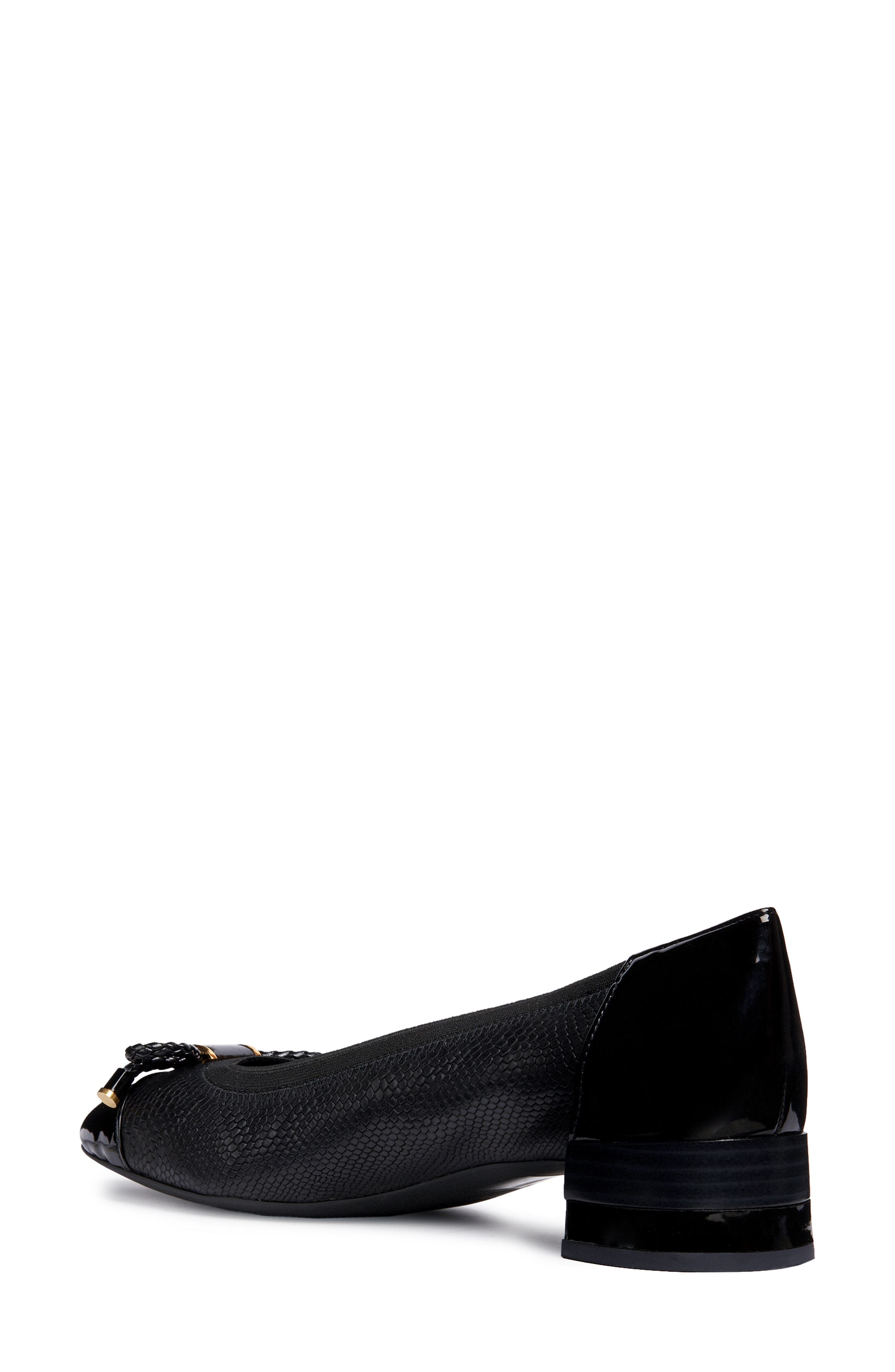 Chloo Pump,                             Alternate thumbnail 2, color,                             BLACK LEATHER