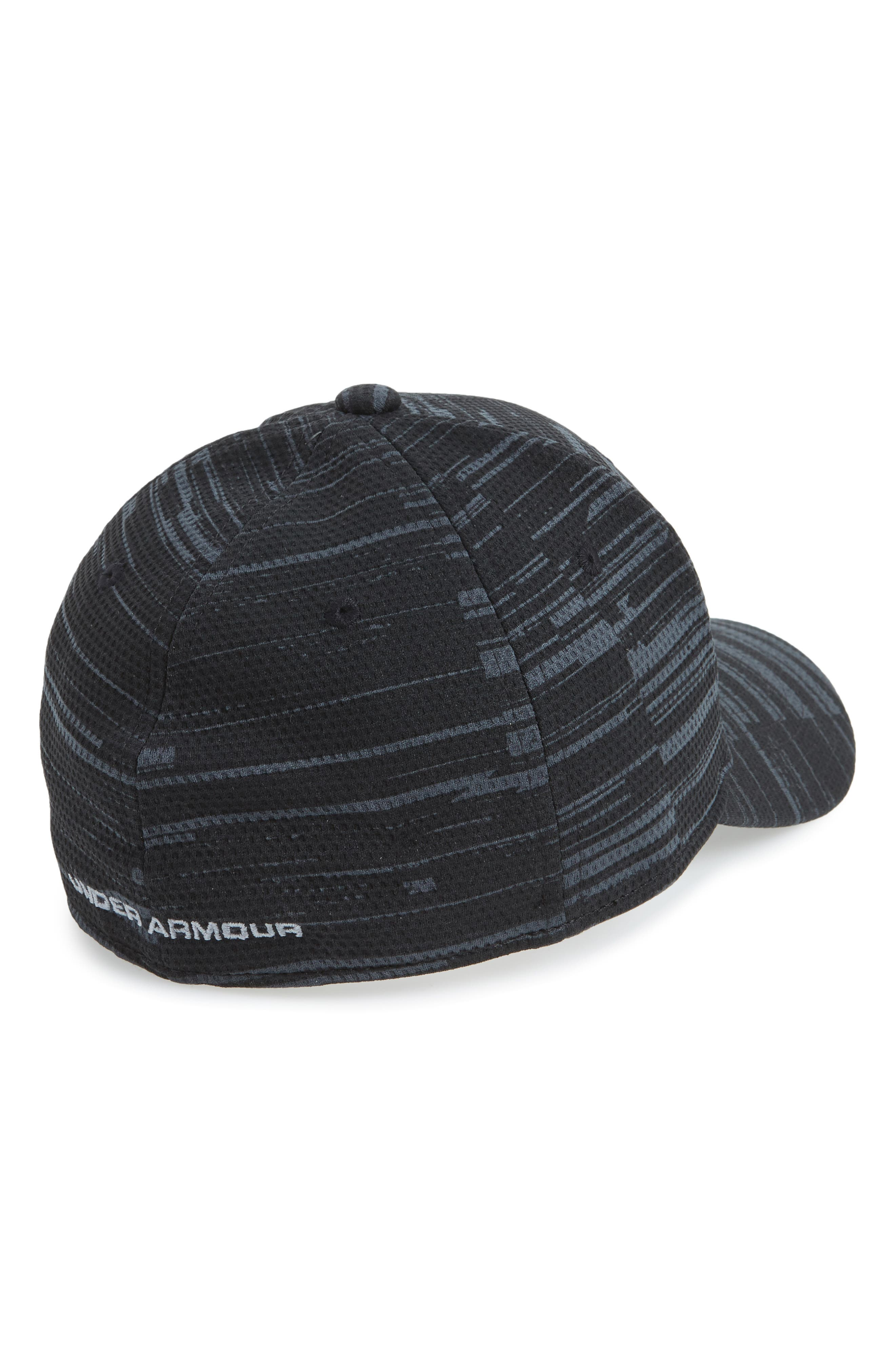'Blitzing' Stretch Fit Baseball Cap,                             Alternate thumbnail 2, color,                             003