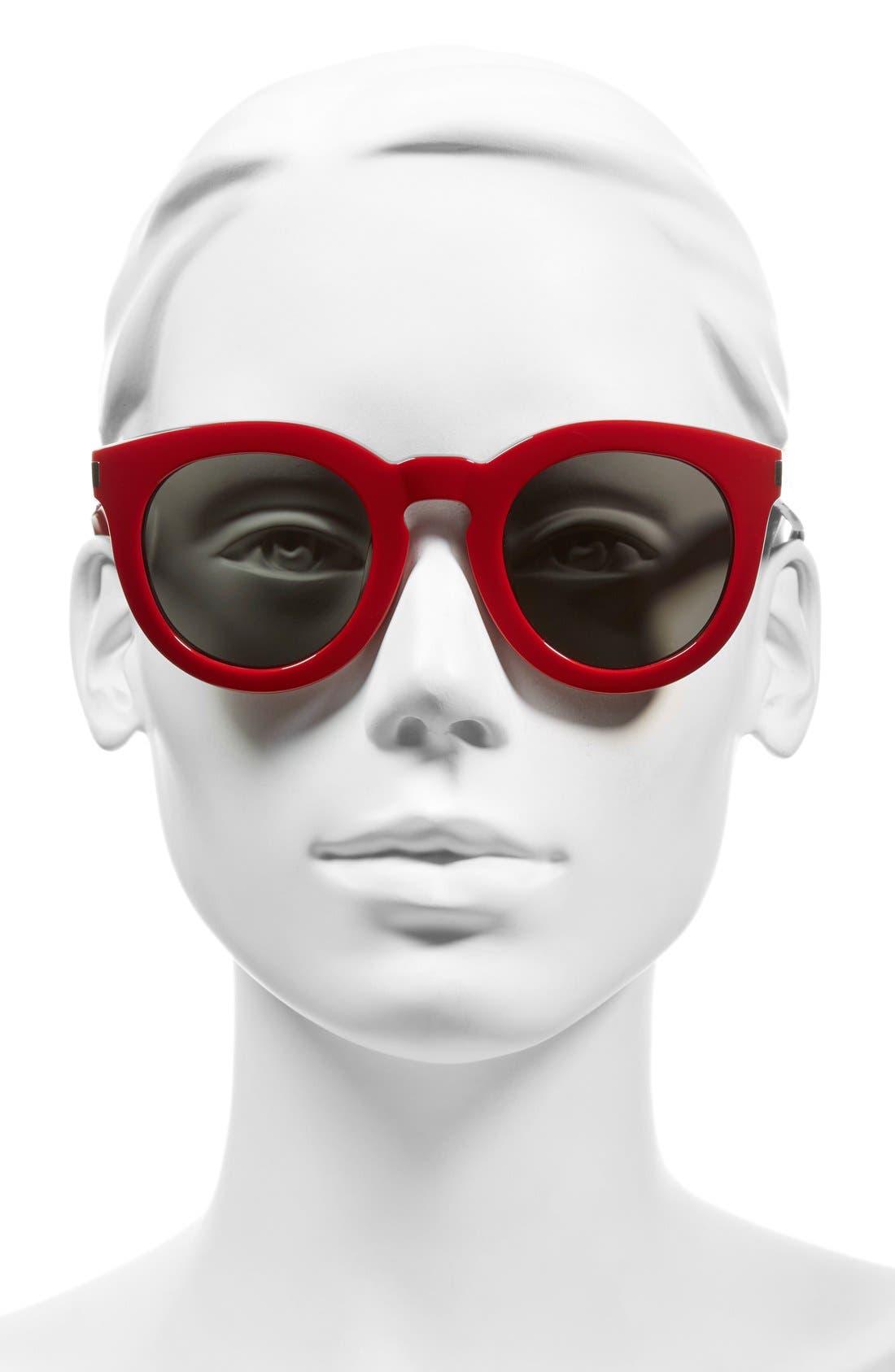 '102 Surf' 47mm Retro Sunglasses,                             Alternate thumbnail 7, color,
