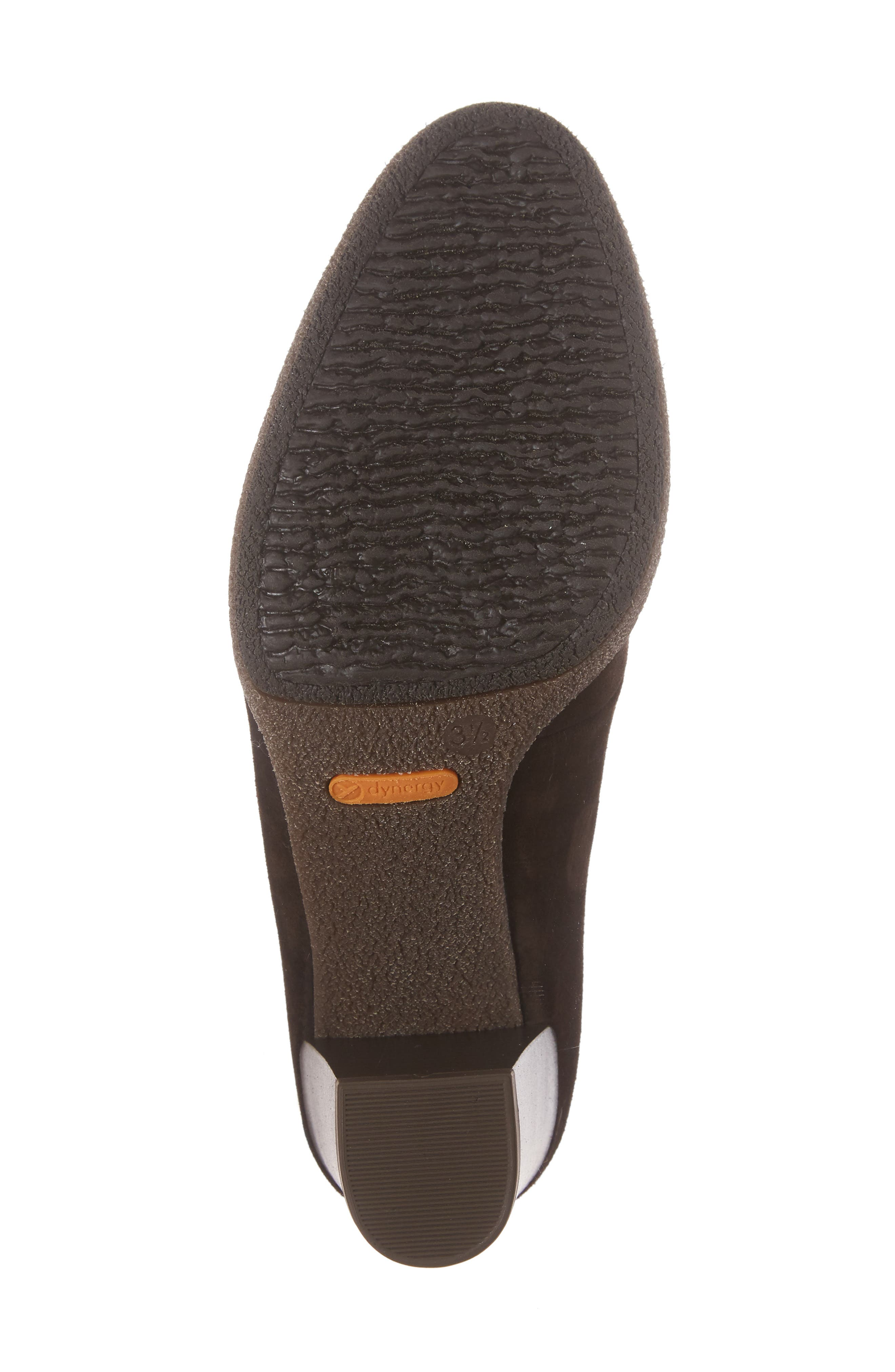 Becky Loafer Pump,                             Alternate thumbnail 6, color,                             BROWN SUEDE
